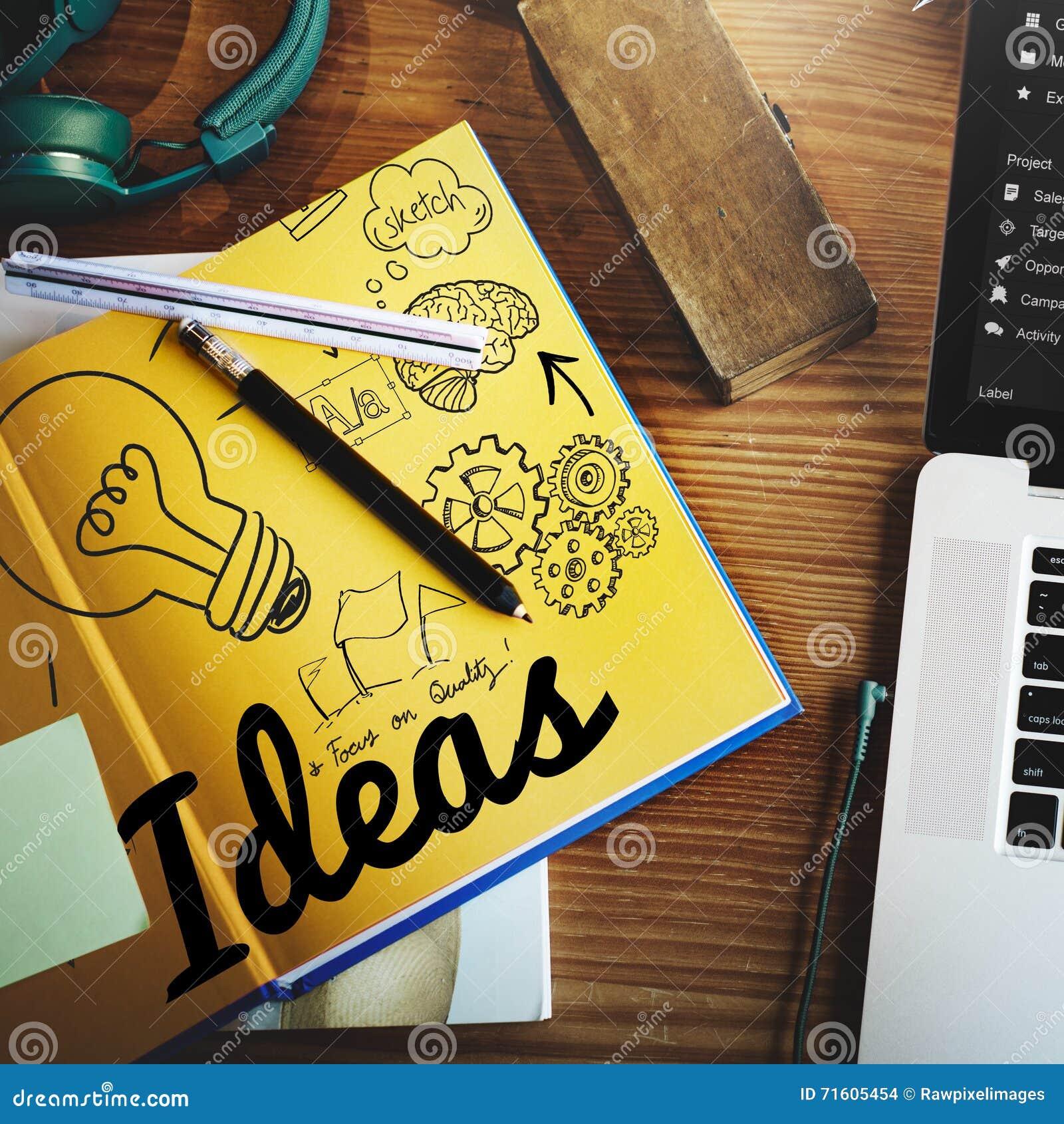 Concept objectif de mission de plan de développement de vision d idée d idées