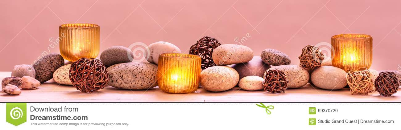 Concept of pampering beauty, relaxing massage, spirituality, ayurveda or sensuality