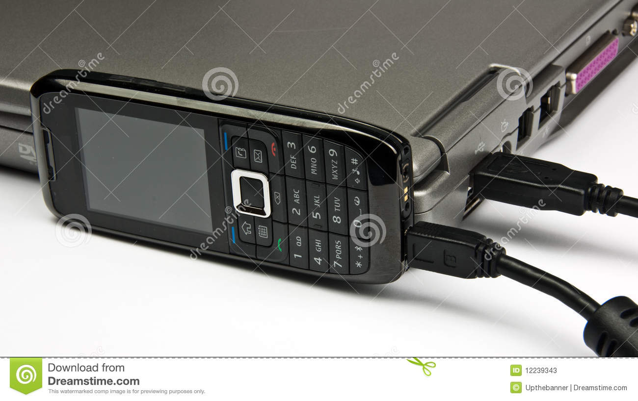 how to connect phone with laptop with usb