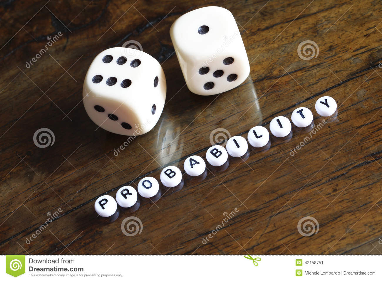 Concept of probability, number seven