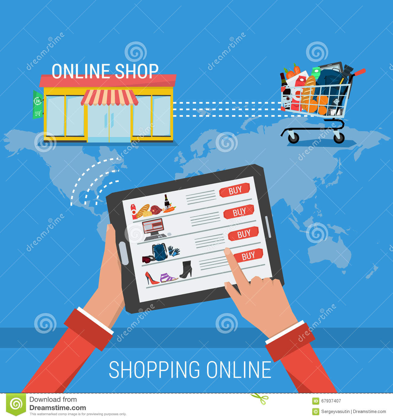 Easy online shop