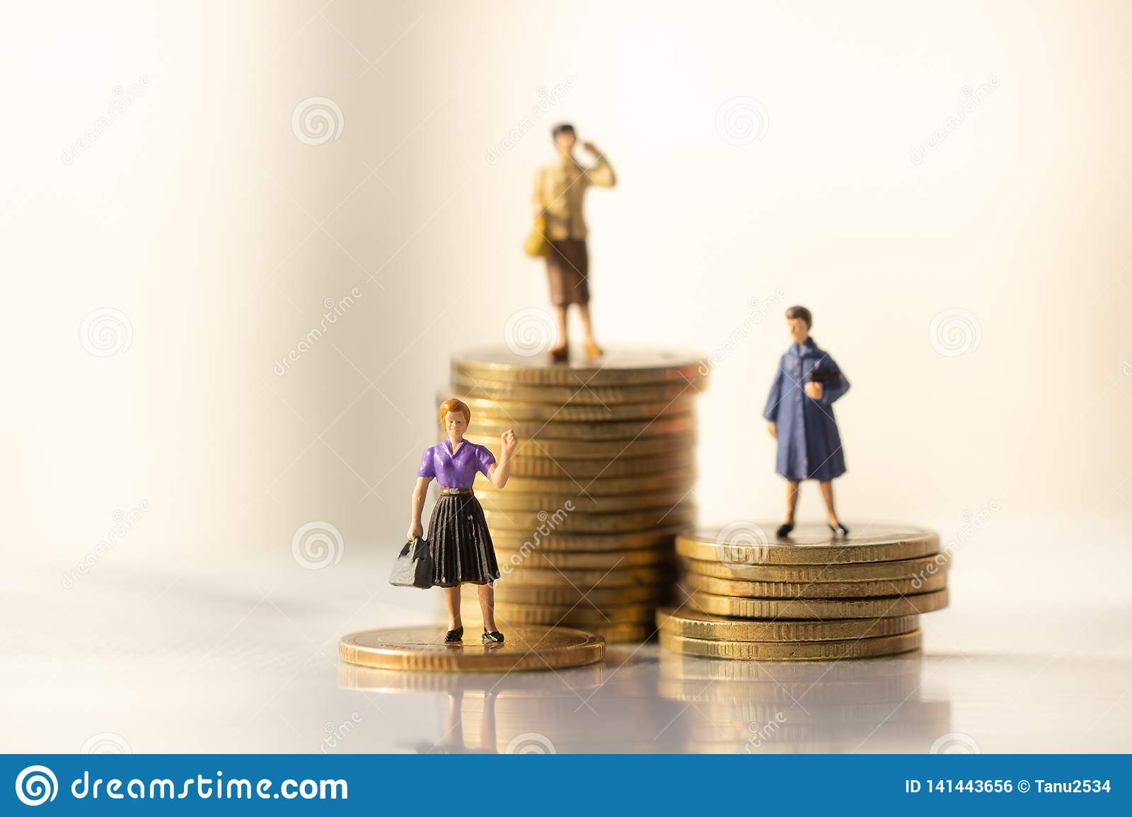 Concept of Retirement Money Plan and savings growth