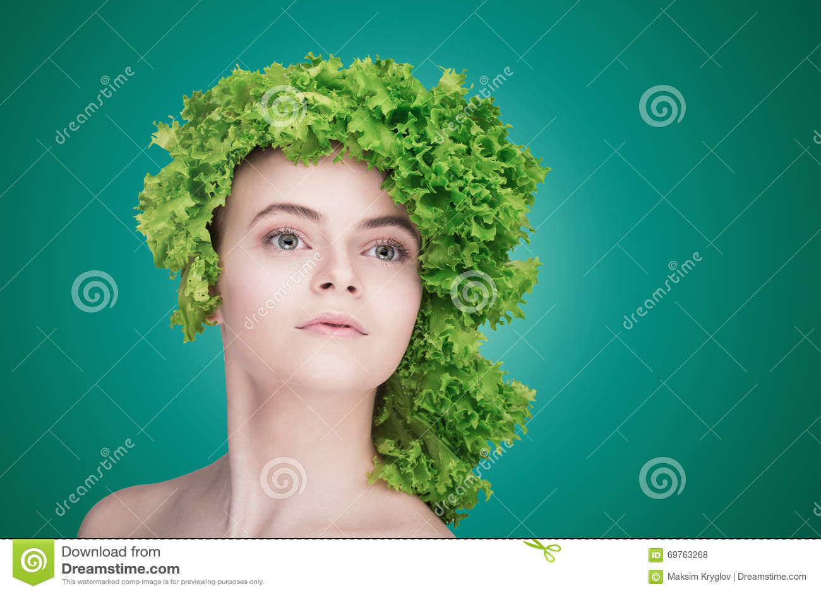 Concept sain de nourriture, régime, nourriture végétarienne Concept suivant un régime