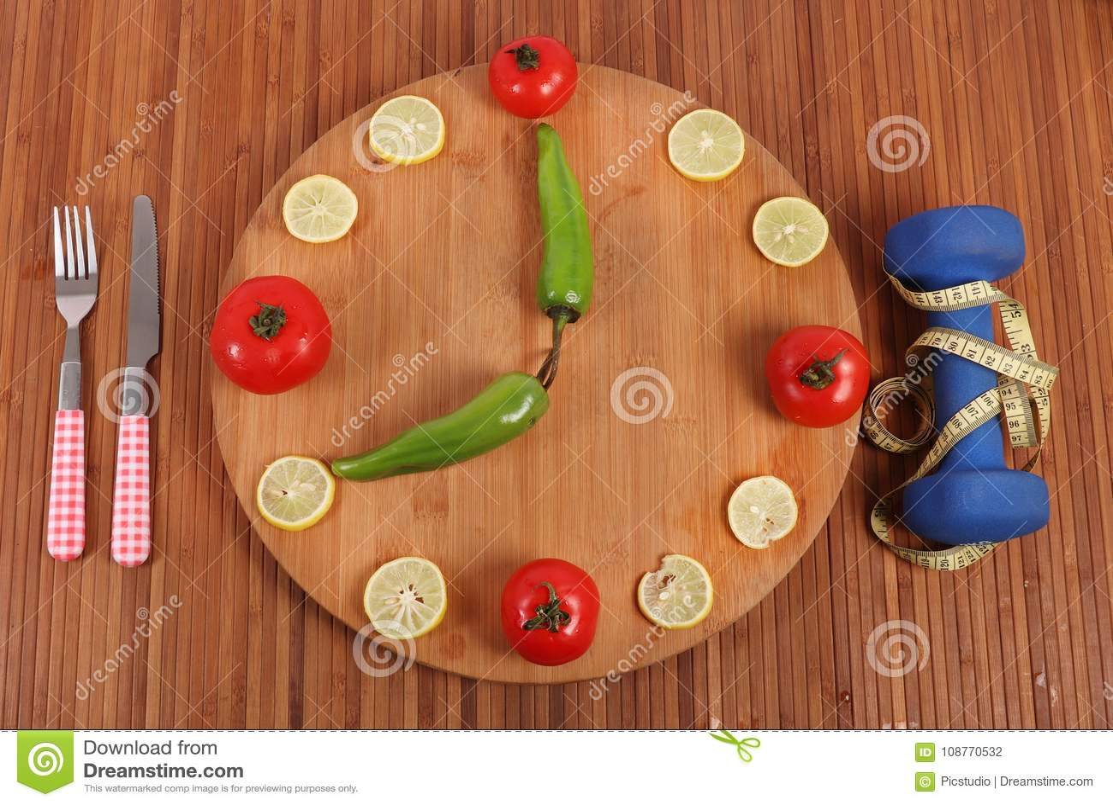 Fitness clock