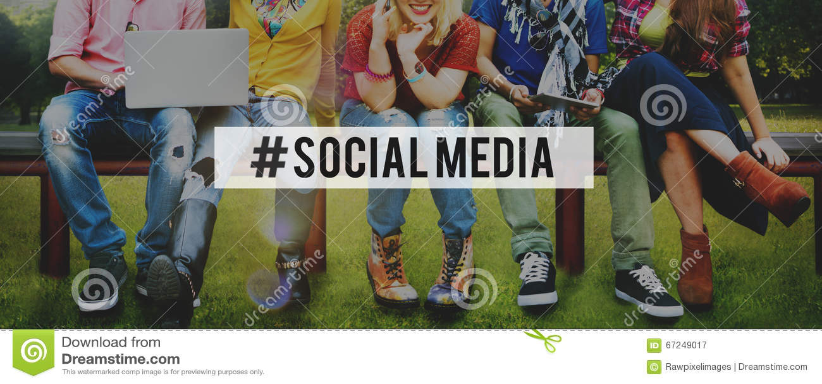 Concept social de connexion de technologie d Internet de réseau de media