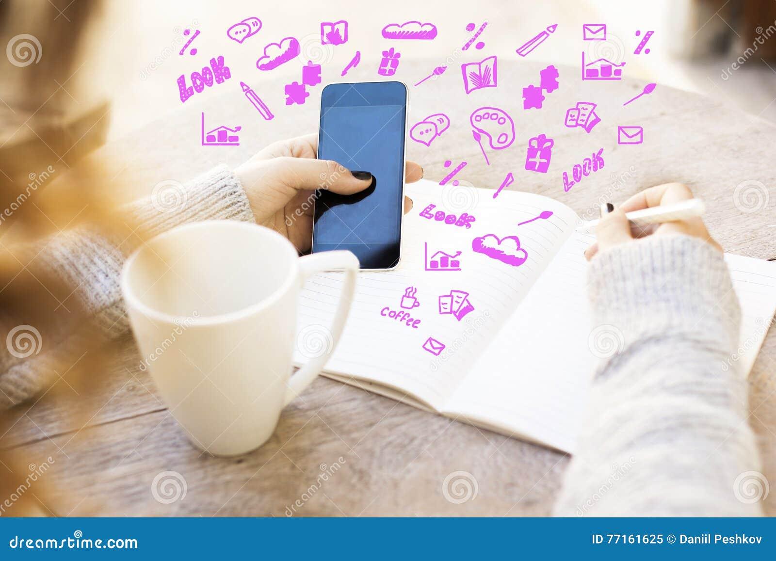 Concept social de medias