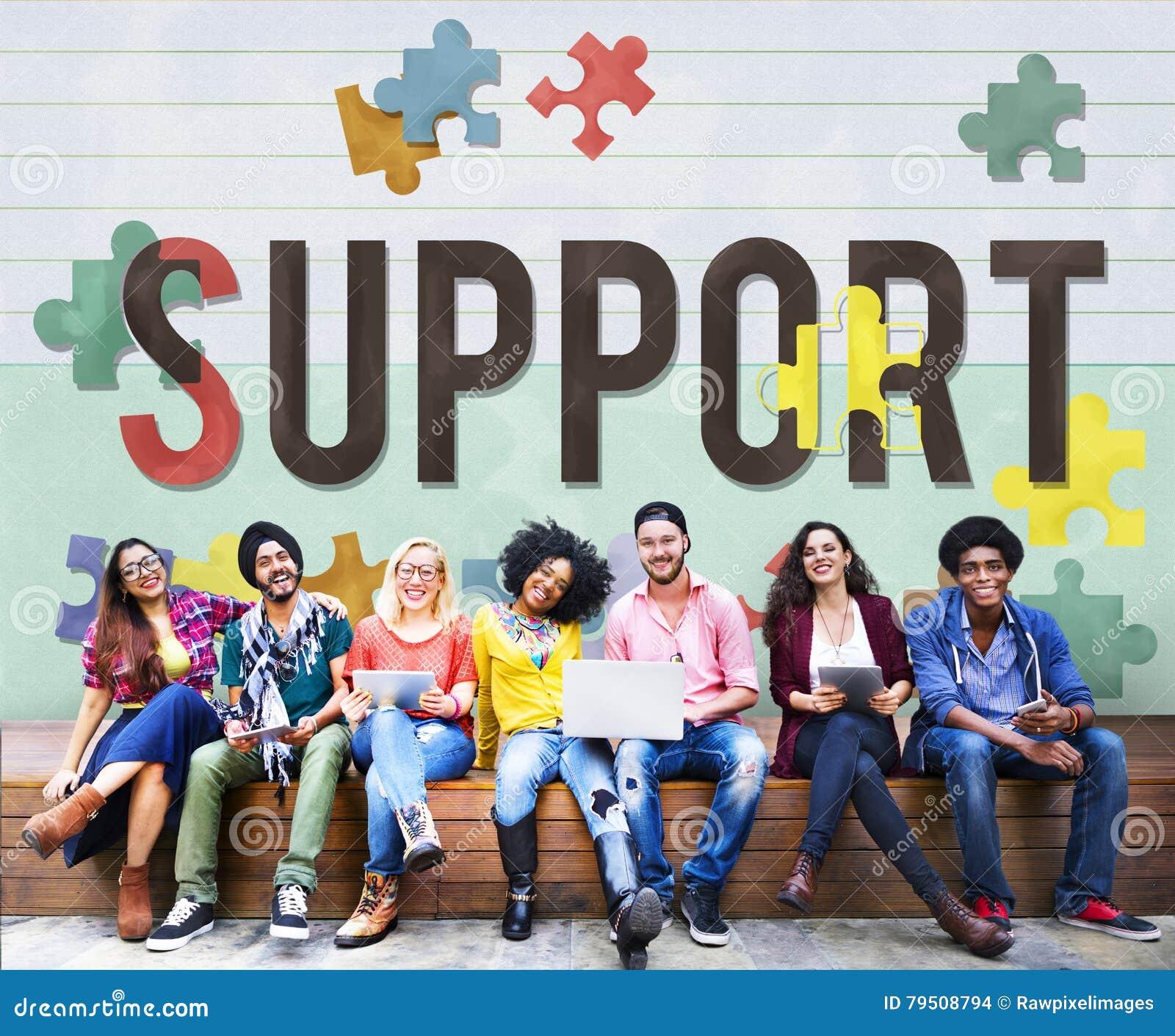 Concept social de soin de charité d aide de soutien