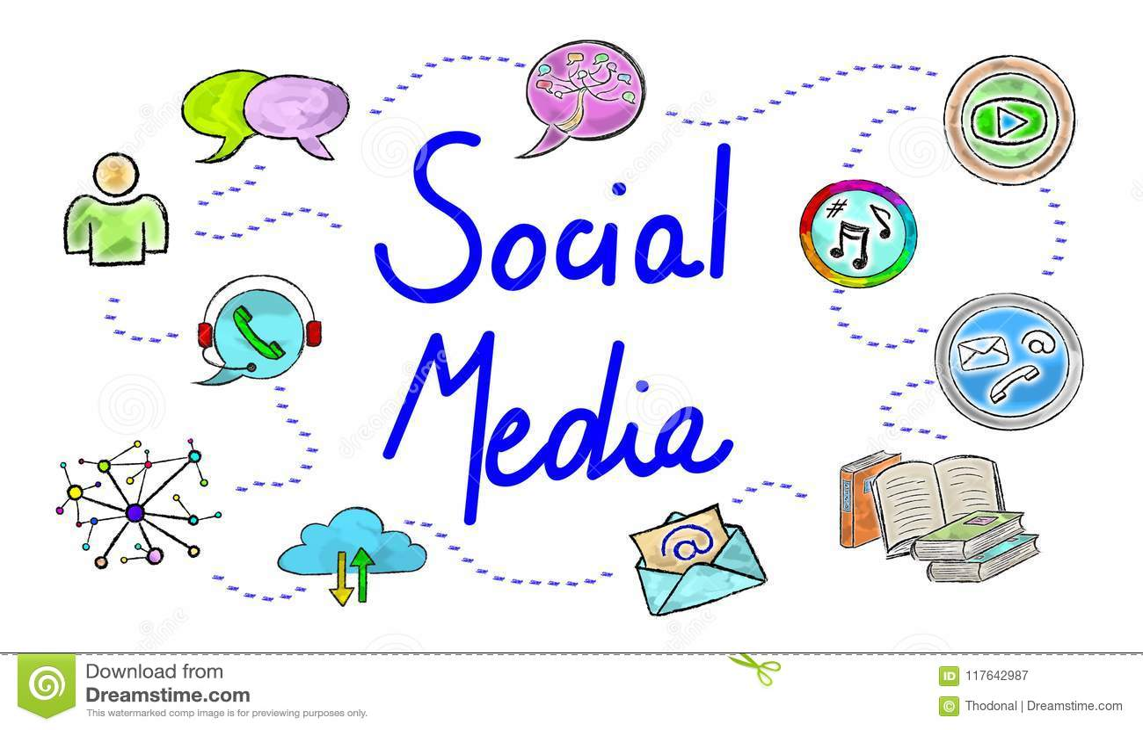 Concept sociale media
