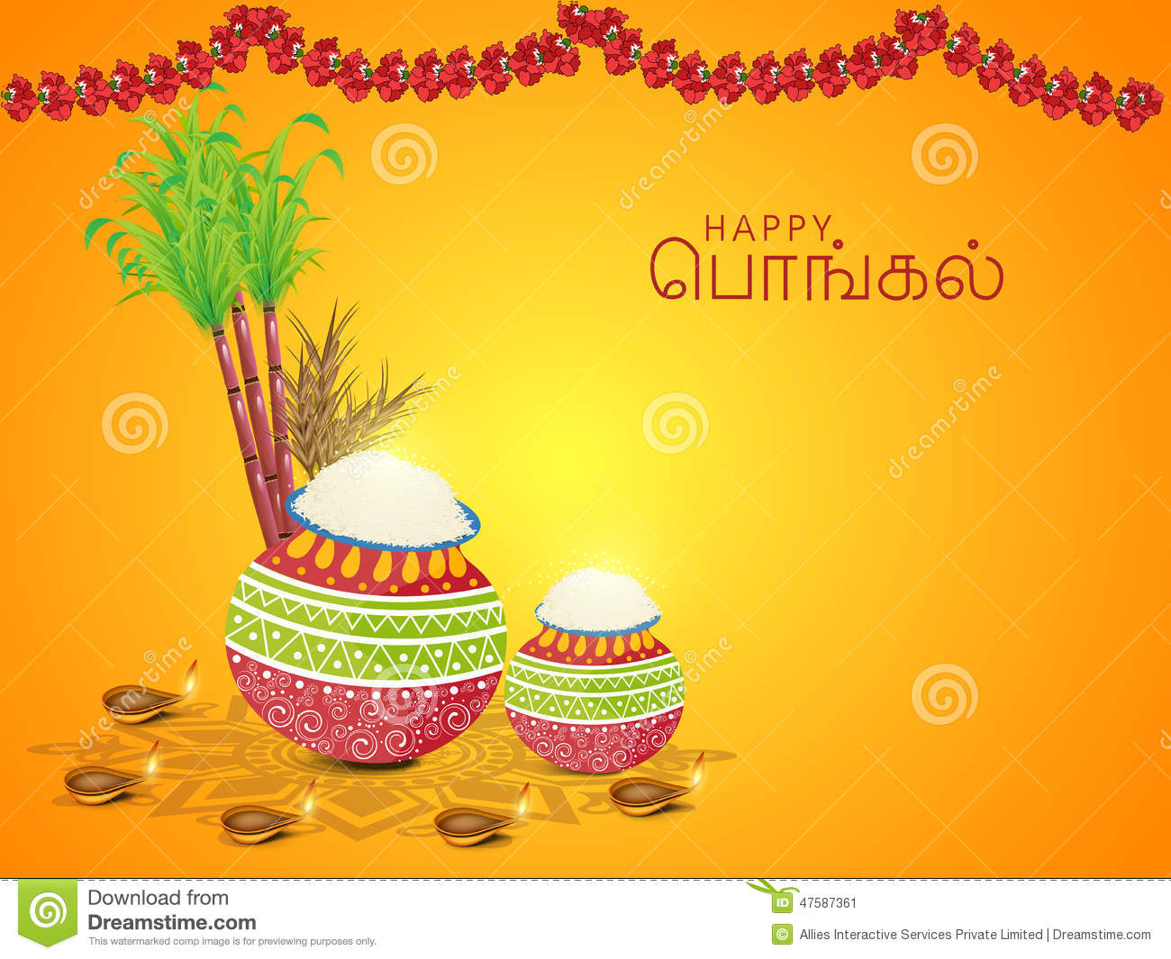Concept of south indian festival happy pongal celebrations stock concept of south indian festival happy pongal celebrations kristyandbryce Images
