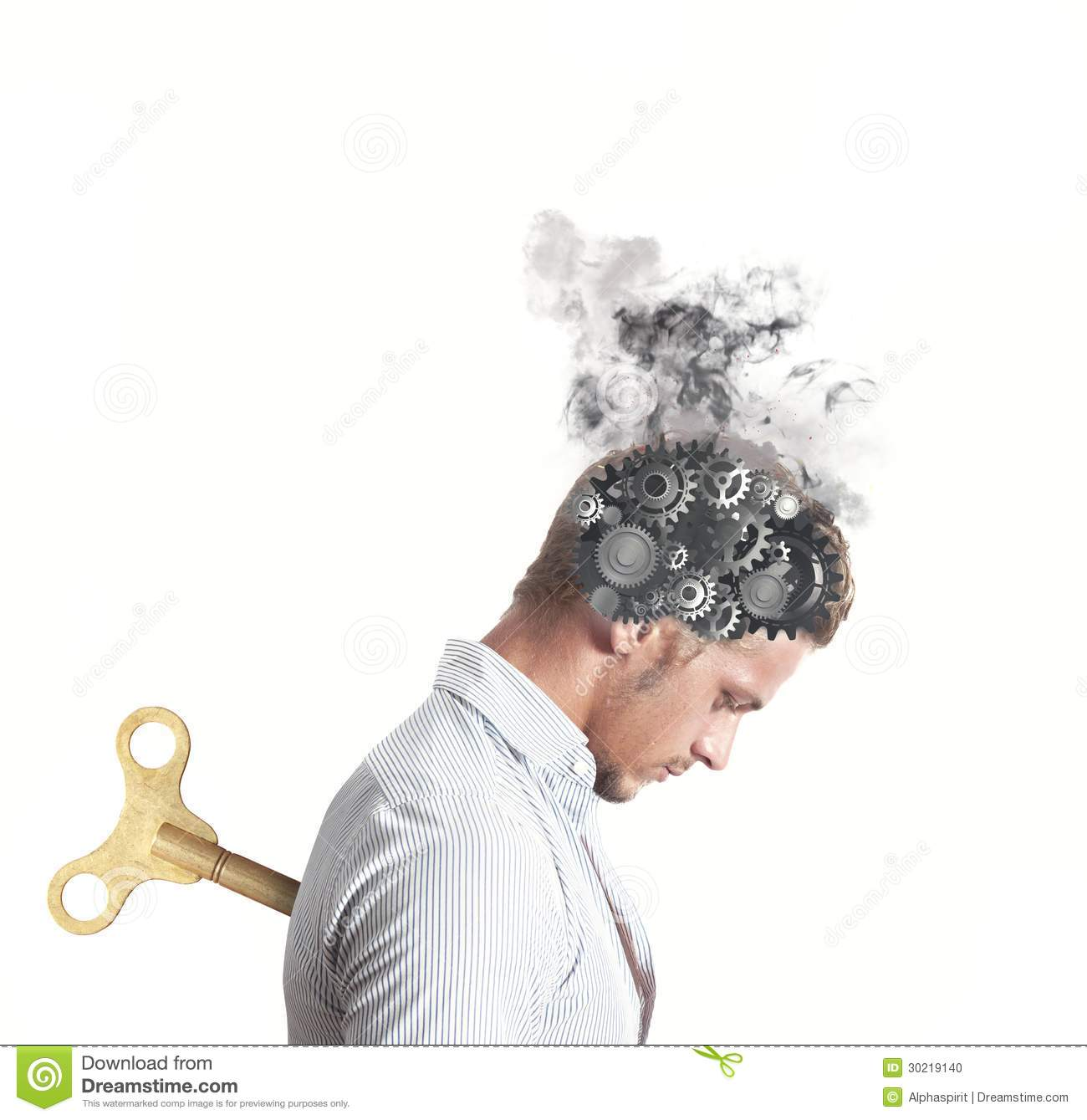 Stress Concept Stock Photo Image 30219140