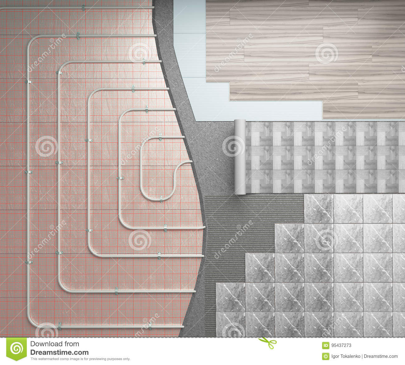 Diffe Types Of Floor Heating Systems Carpet Vidalondon