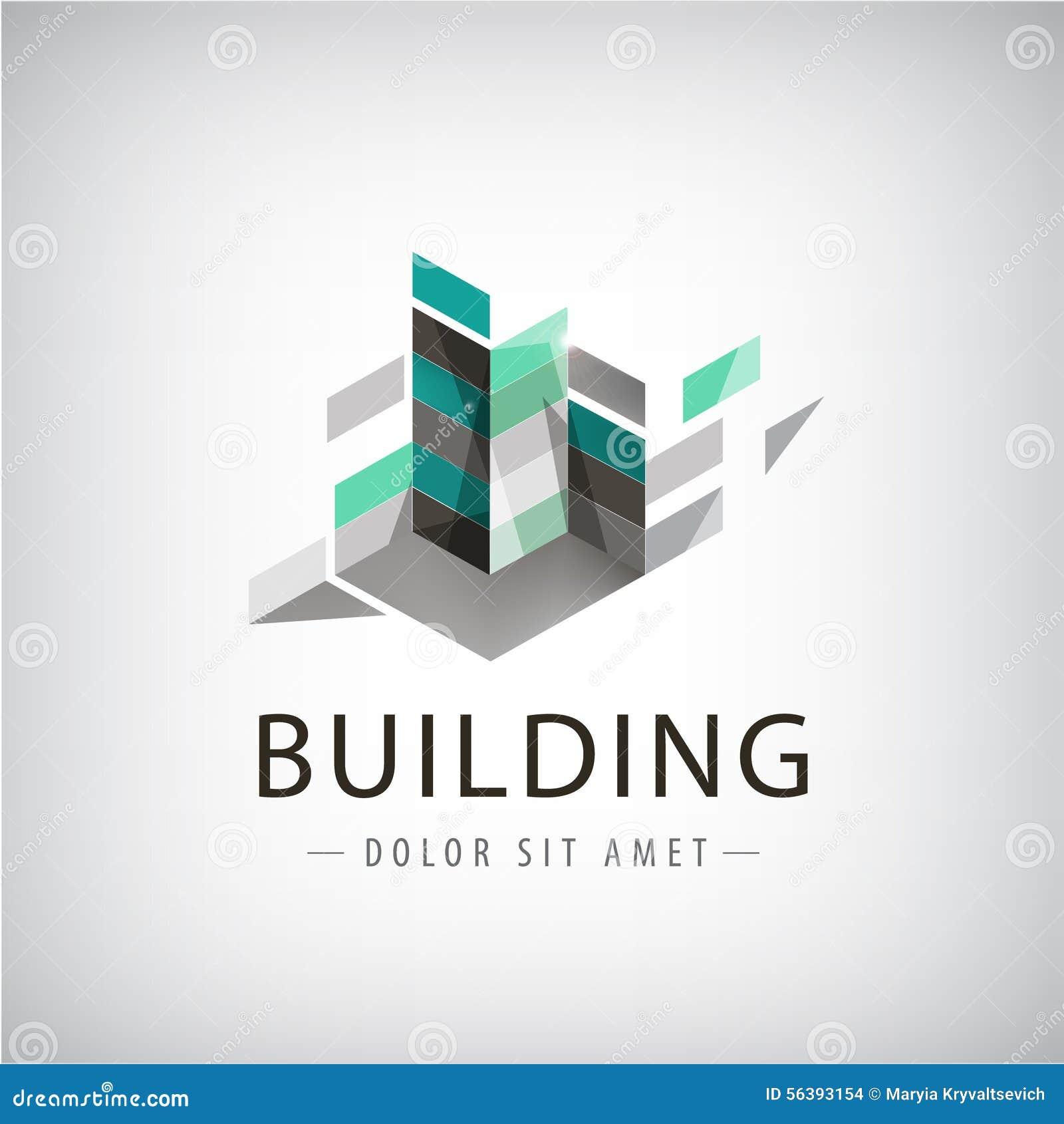 Concepten vector grafisch - Kleurrijke gebouwen van