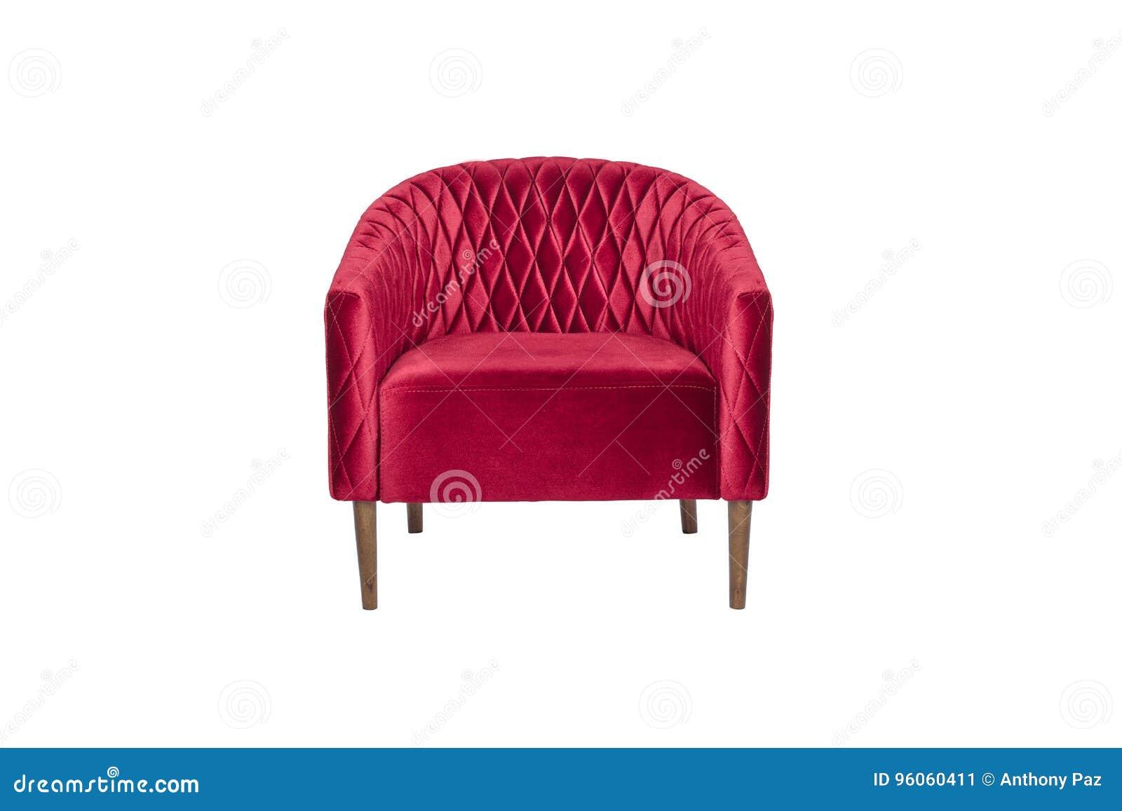 Concepteur moderne de fauteuil rouge