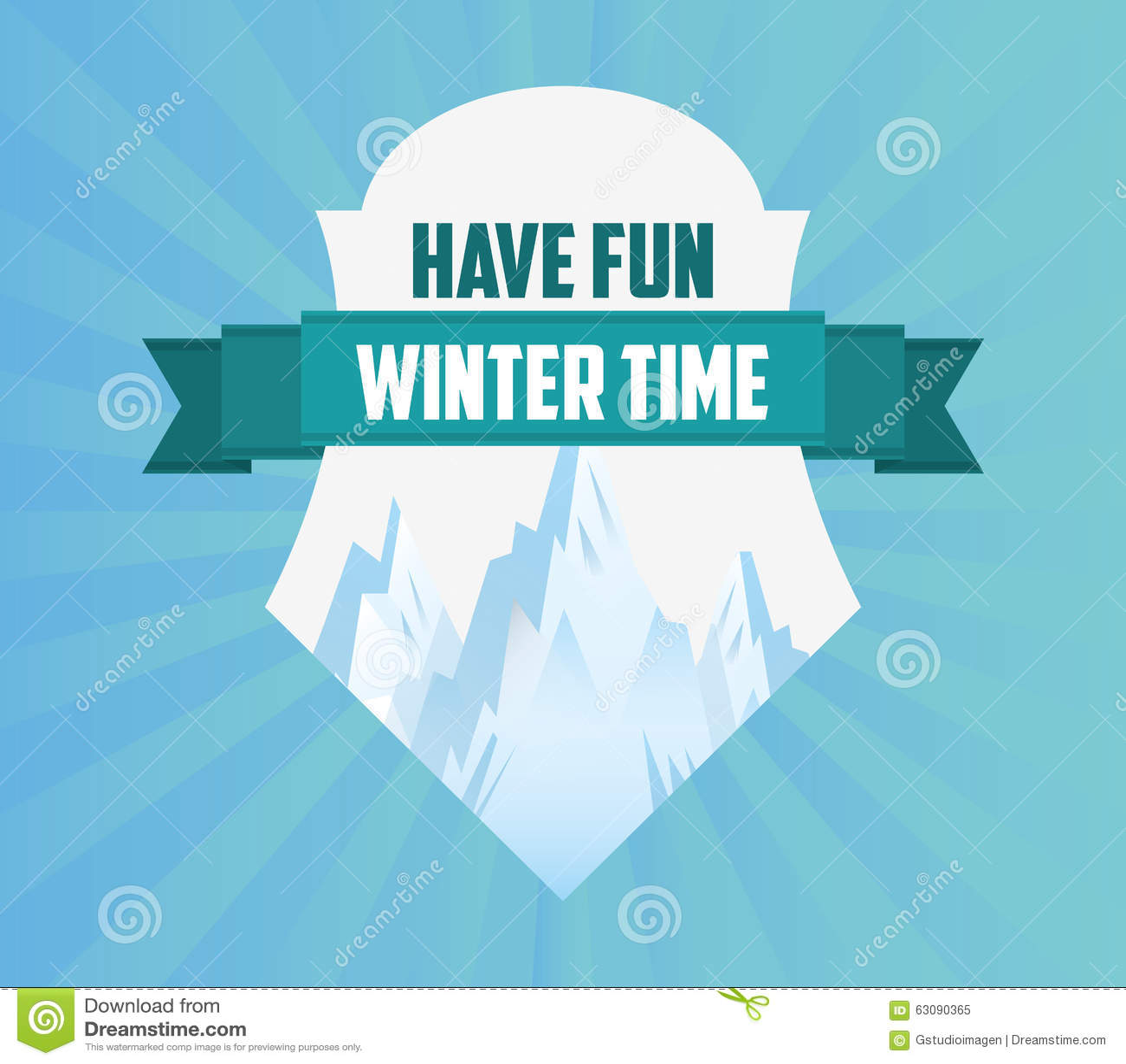Download Conception Bienvenue D'hiver Illustration de Vecteur - Illustration du illustration, décembre: 63090365