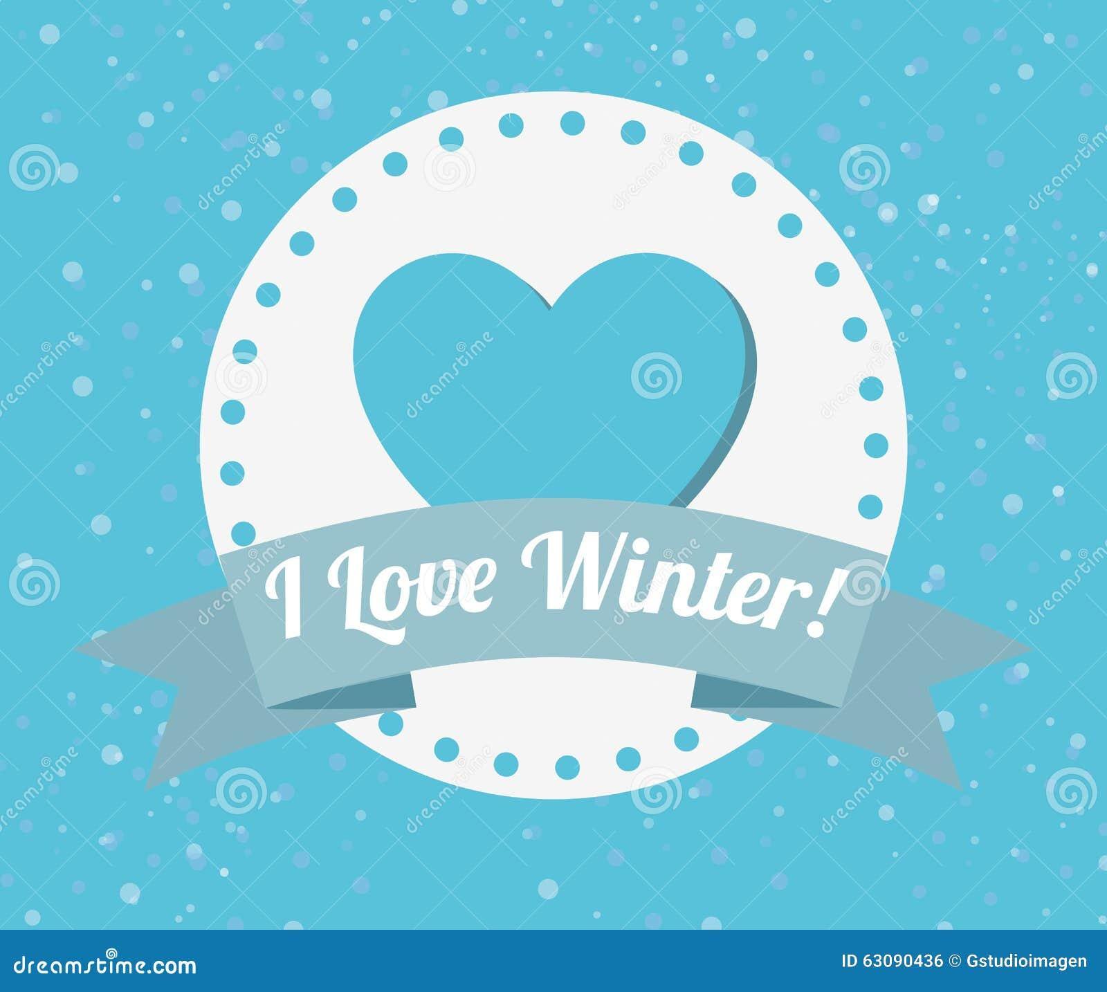 Download Conception Bienvenue D'hiver Illustration de Vecteur - Illustration du décembre, fond: 63090436