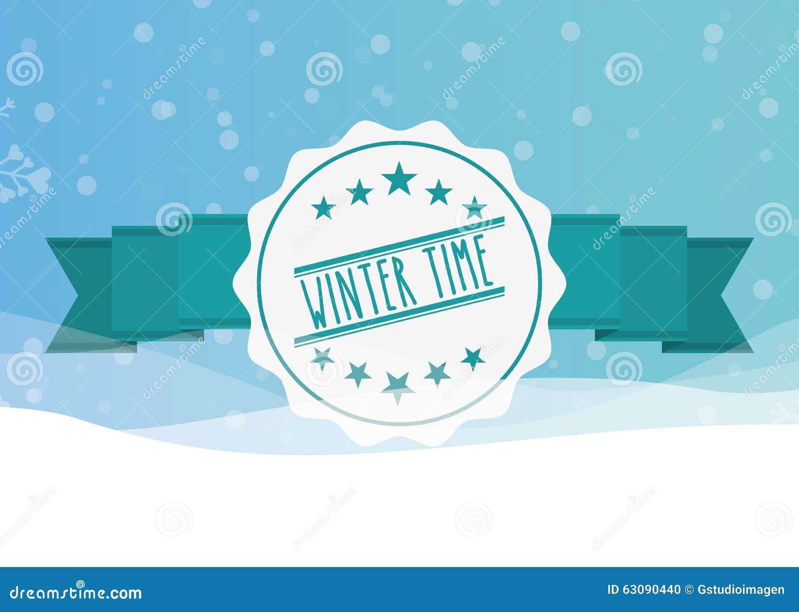 Download Conception Bienvenue D'hiver Illustration de Vecteur - Illustration du neige, salutation: 63090440