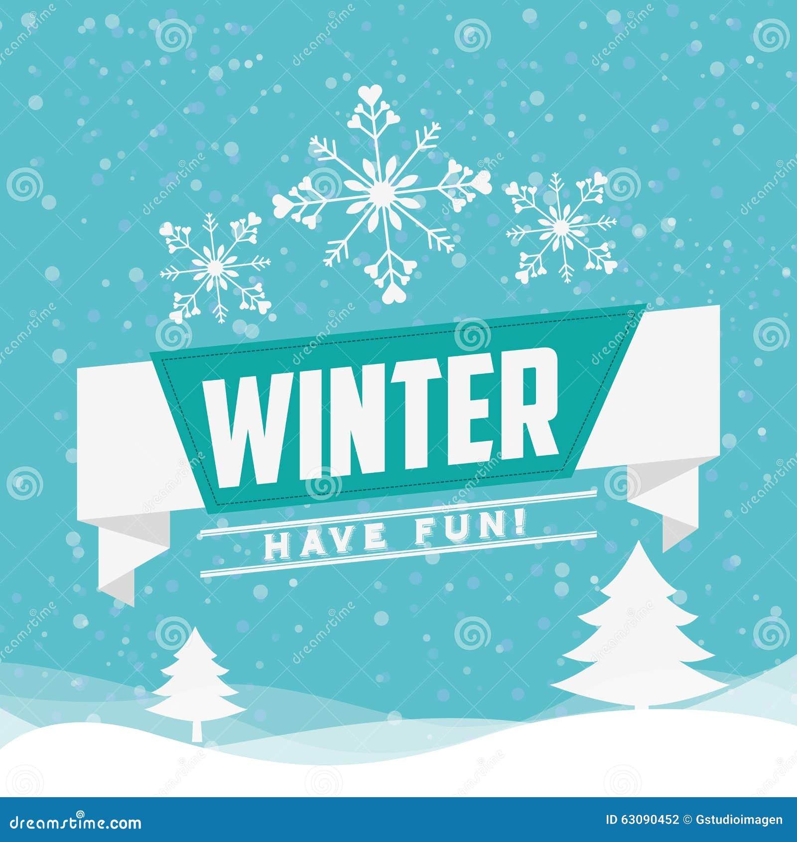 Download Conception Bienvenue D'hiver Illustration de Vecteur - Illustration du nature, bonjour: 63090452