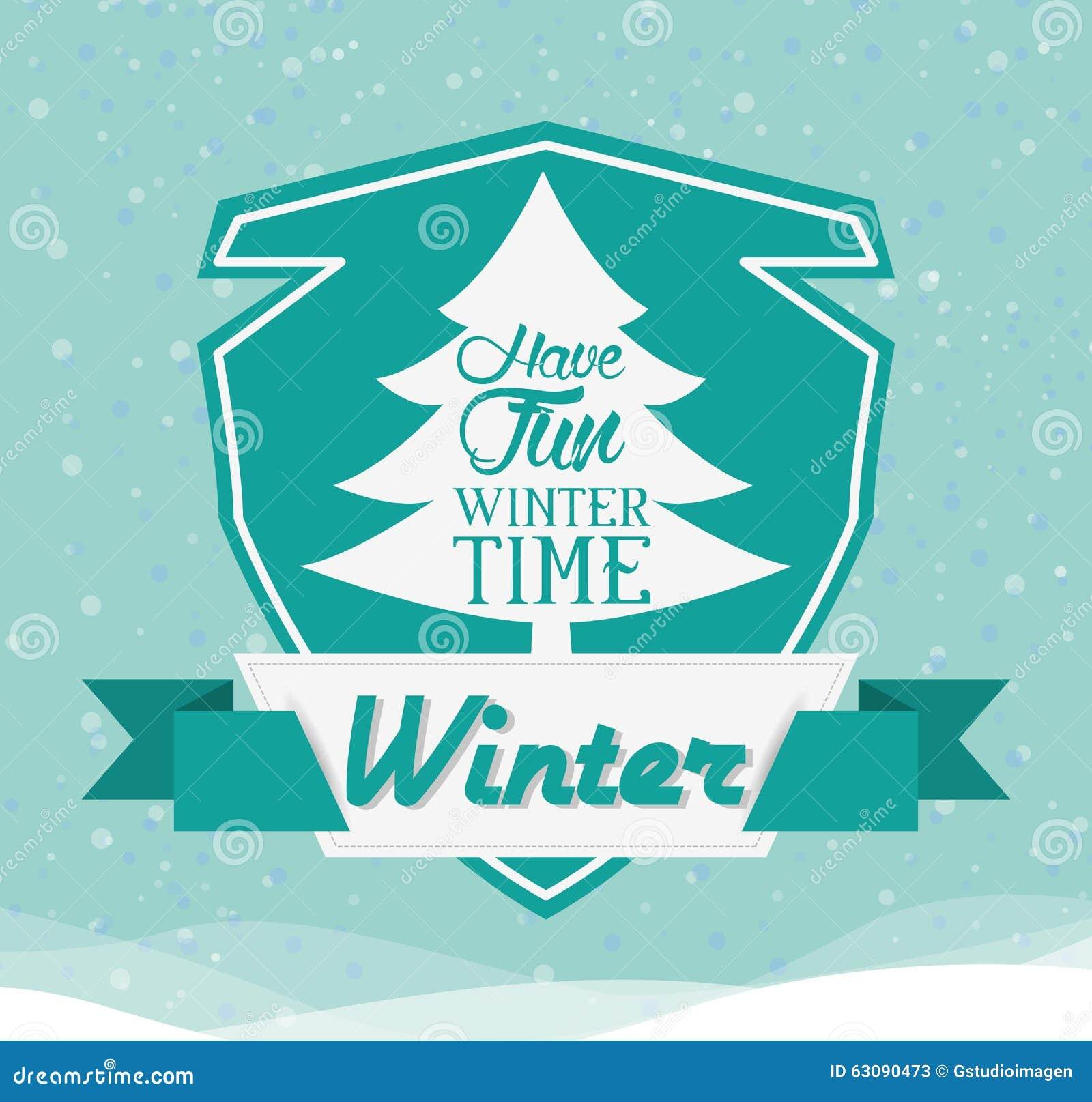 Download Conception Bienvenue D'hiver Illustration de Vecteur - Illustration du type, créateur: 63090473