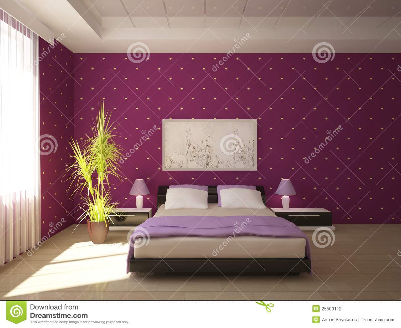 Conception color e de chambre coucher - Chambre coloree ...