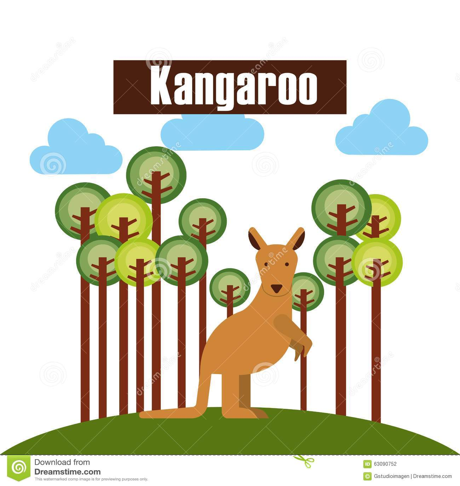 Download Conception D'animaux De Zoo Illustration de Vecteur - Illustration du nature, drôle: 63090752