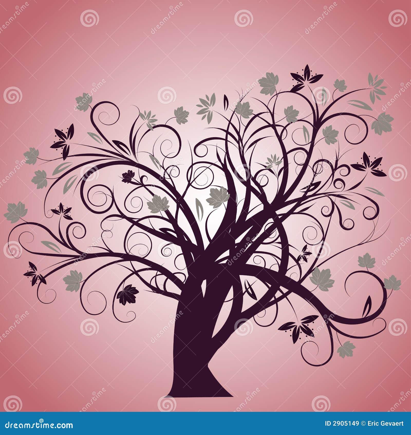 conception d 39 arbre d 39 automne de vecteur images libres de