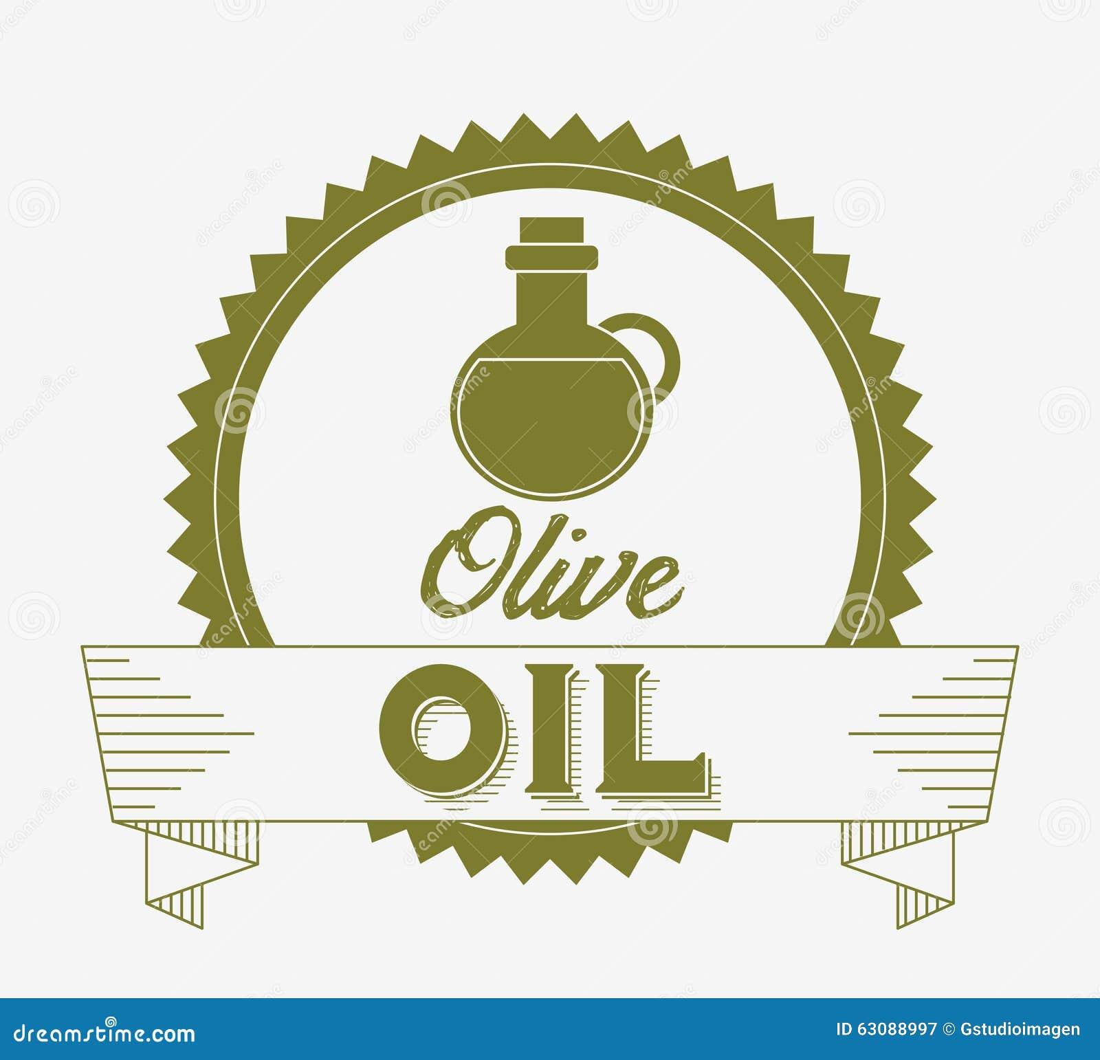 Download Conception d'huile d'olive illustration de vecteur. Illustration du ingrédient - 63088997
