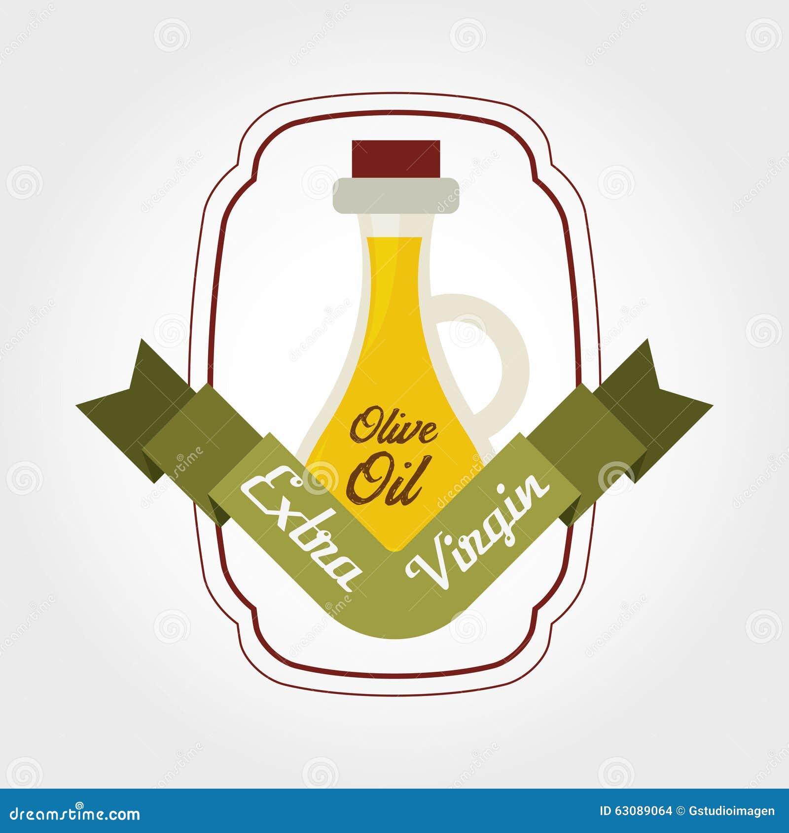 Download Conception d'huile d'olive illustration de vecteur. Illustration du vert - 63089064
