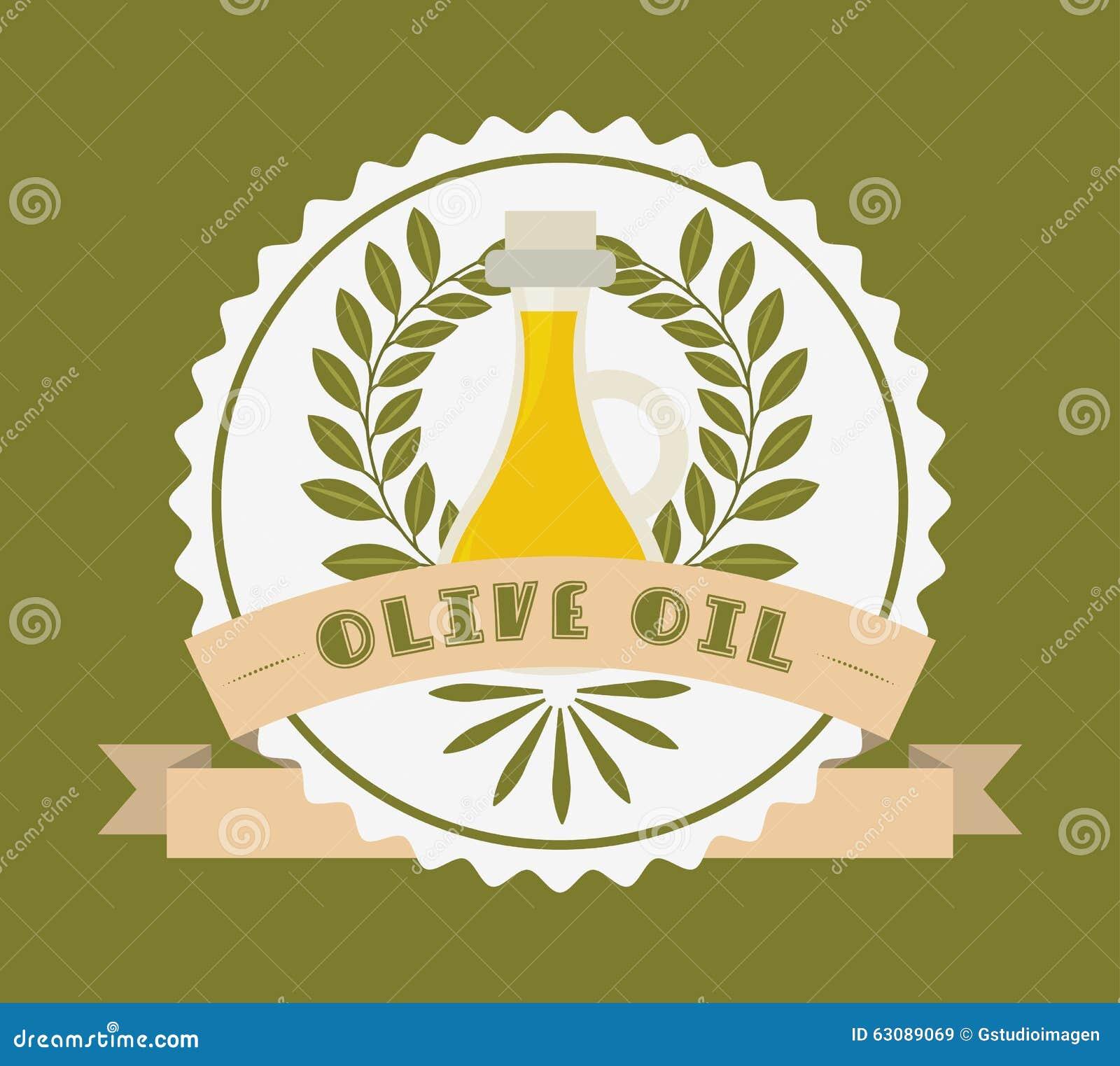 Download Conception d'huile d'olive illustration de vecteur. Illustration du ingrédient - 63089069