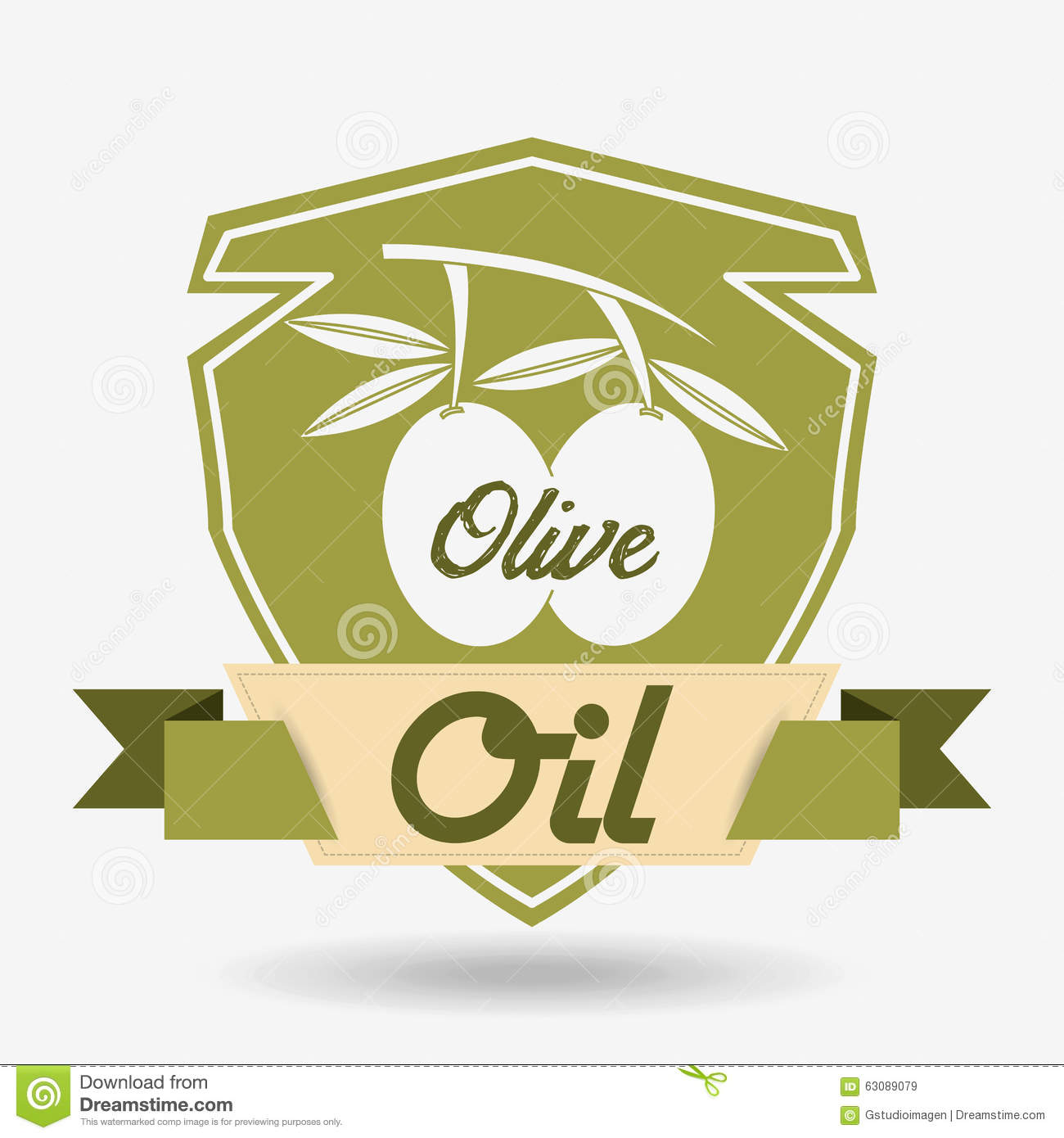 Download Conception d'huile d'olive illustration de vecteur. Illustration du olive - 63089079