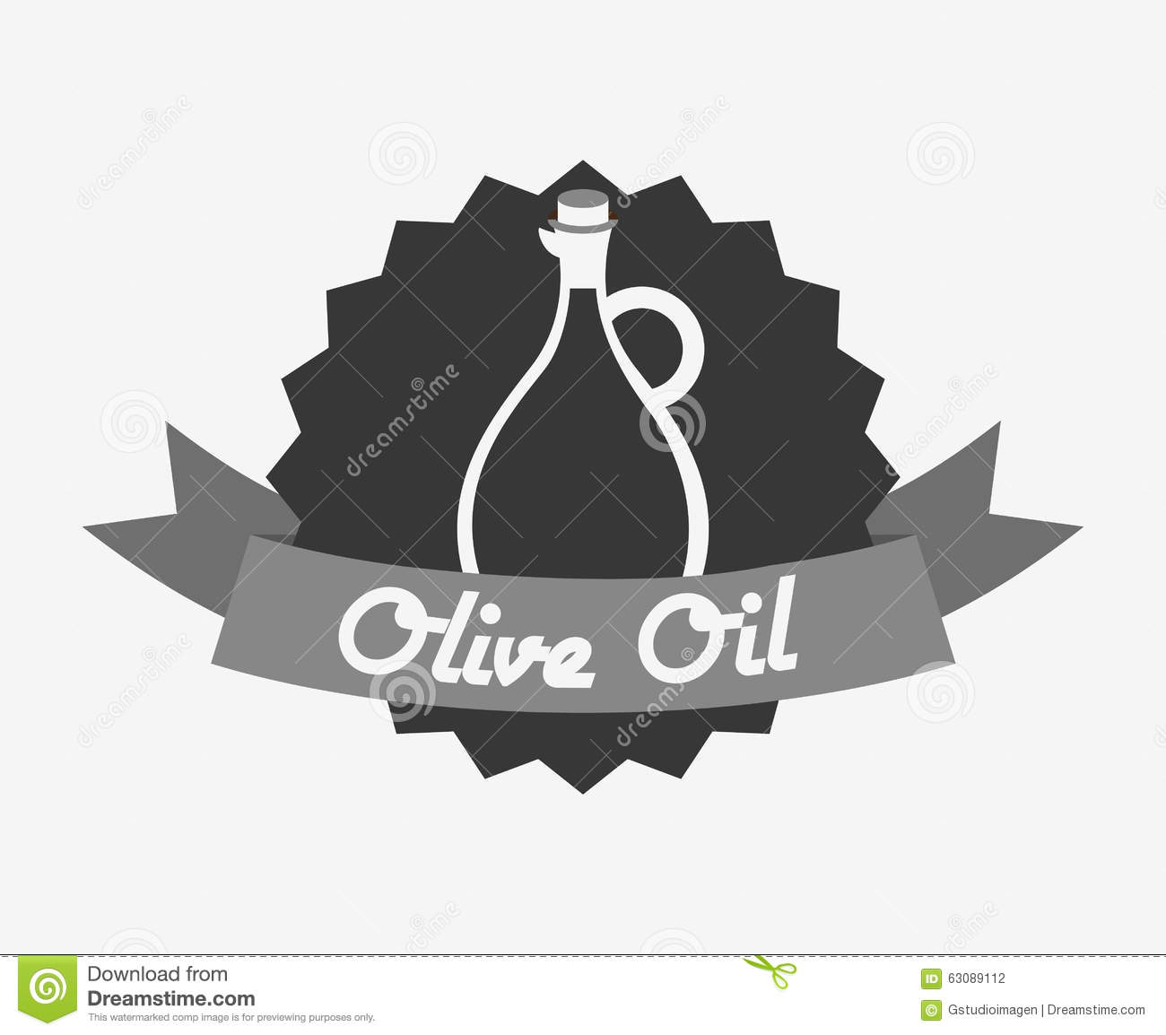 Download Conception d'huile d'olive illustration de vecteur. Illustration du isolement - 63089112