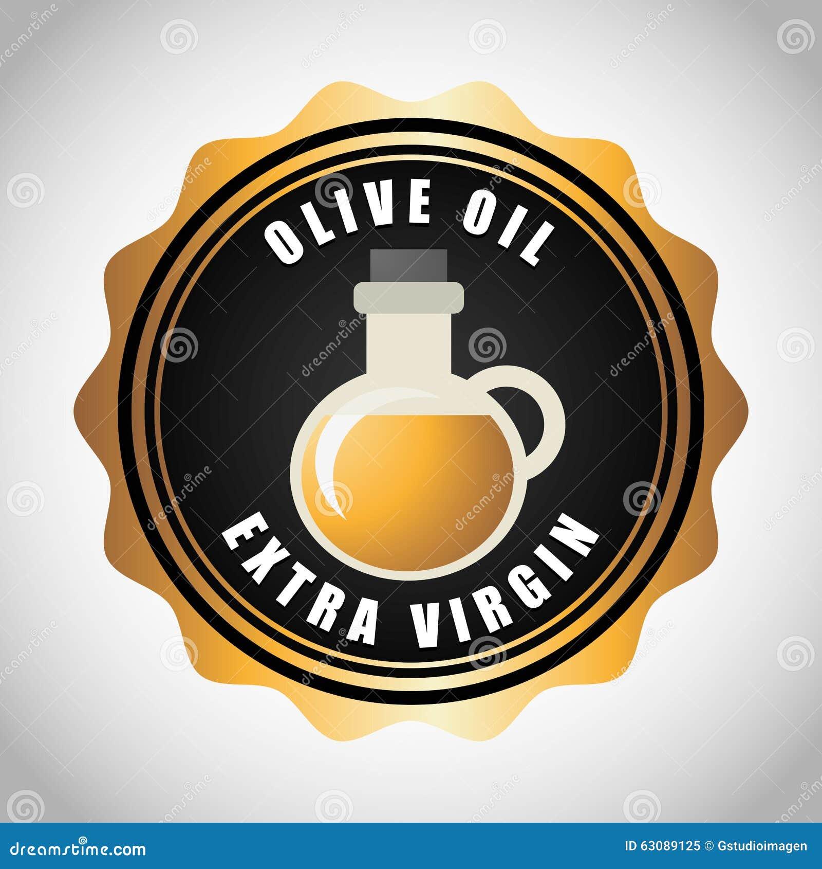Download Conception d'huile d'olive illustration de vecteur. Illustration du frais - 63089125