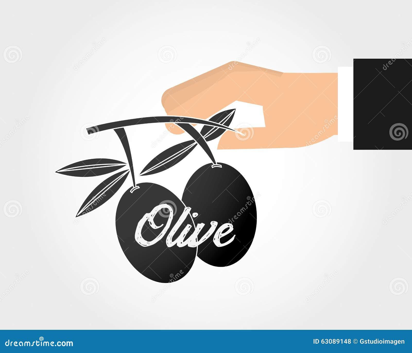 Download Conception d'huile d'olive illustration de vecteur. Illustration du légume - 63089148