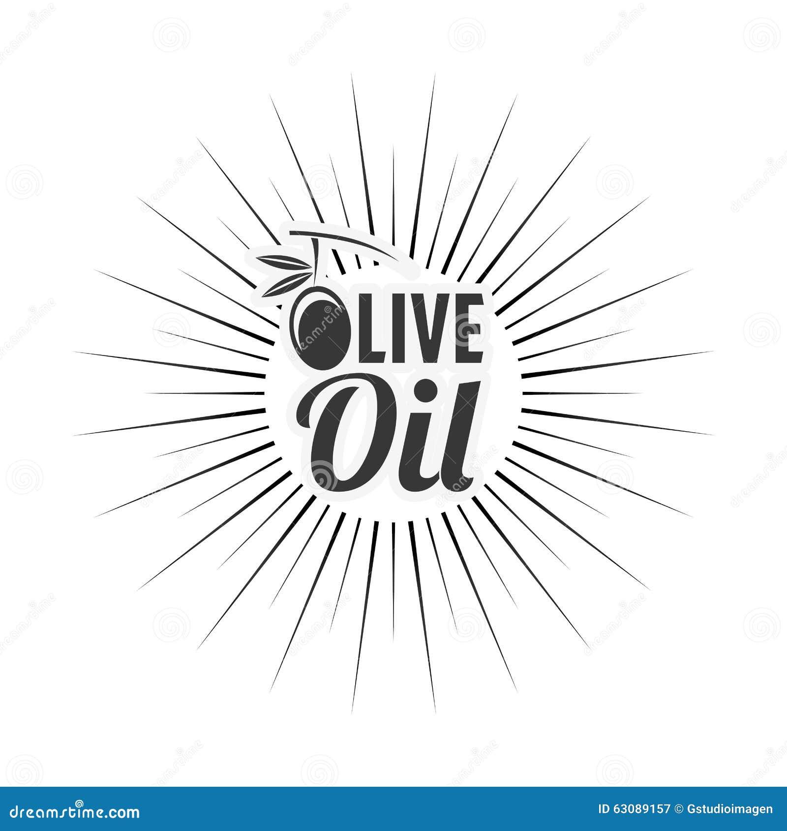 Download Conception d'huile d'olive illustration de vecteur. Illustration du végétarien - 63089157