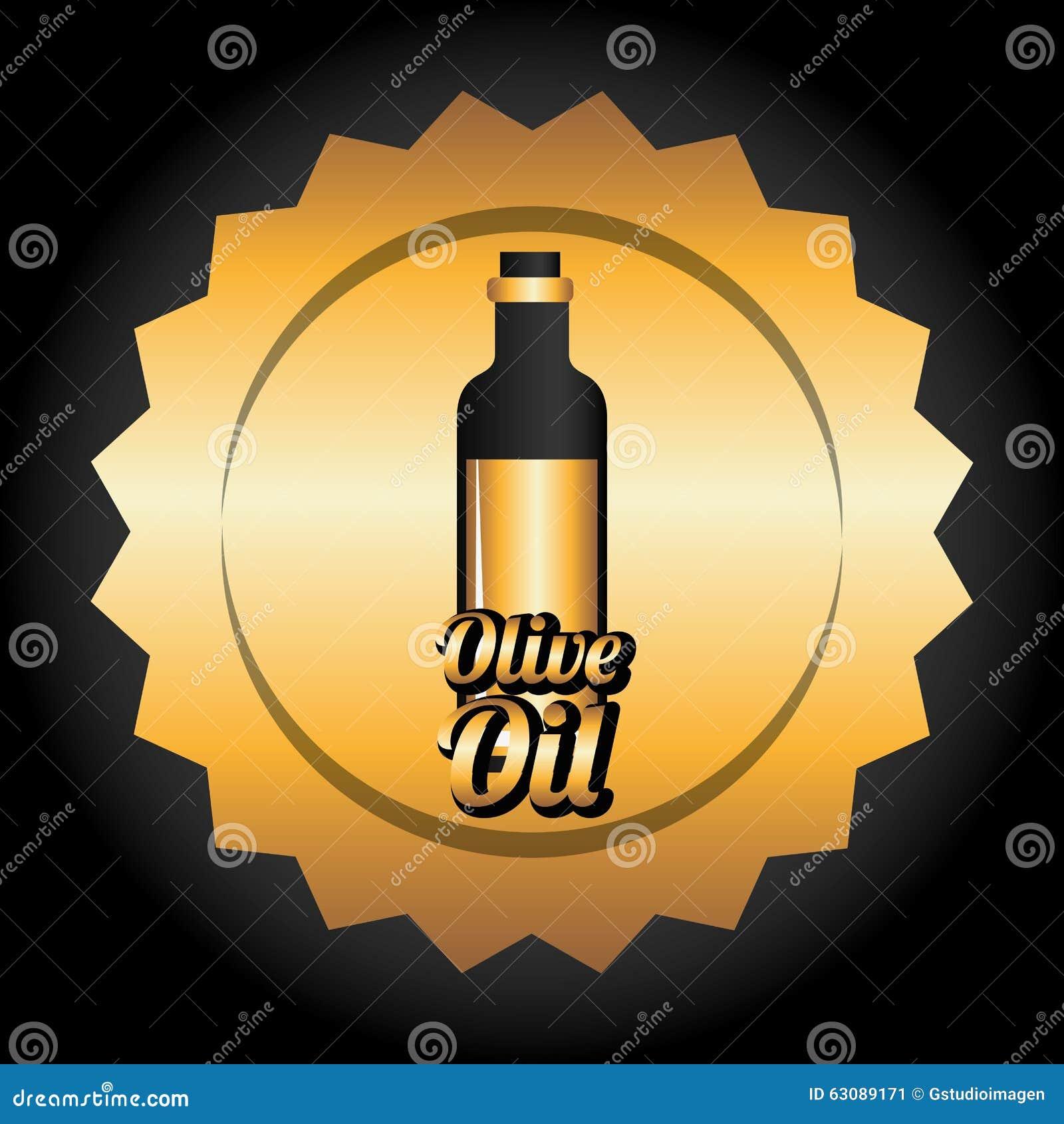 Download Conception d'huile d'olive illustration de vecteur. Illustration du supplémentaire - 63089171