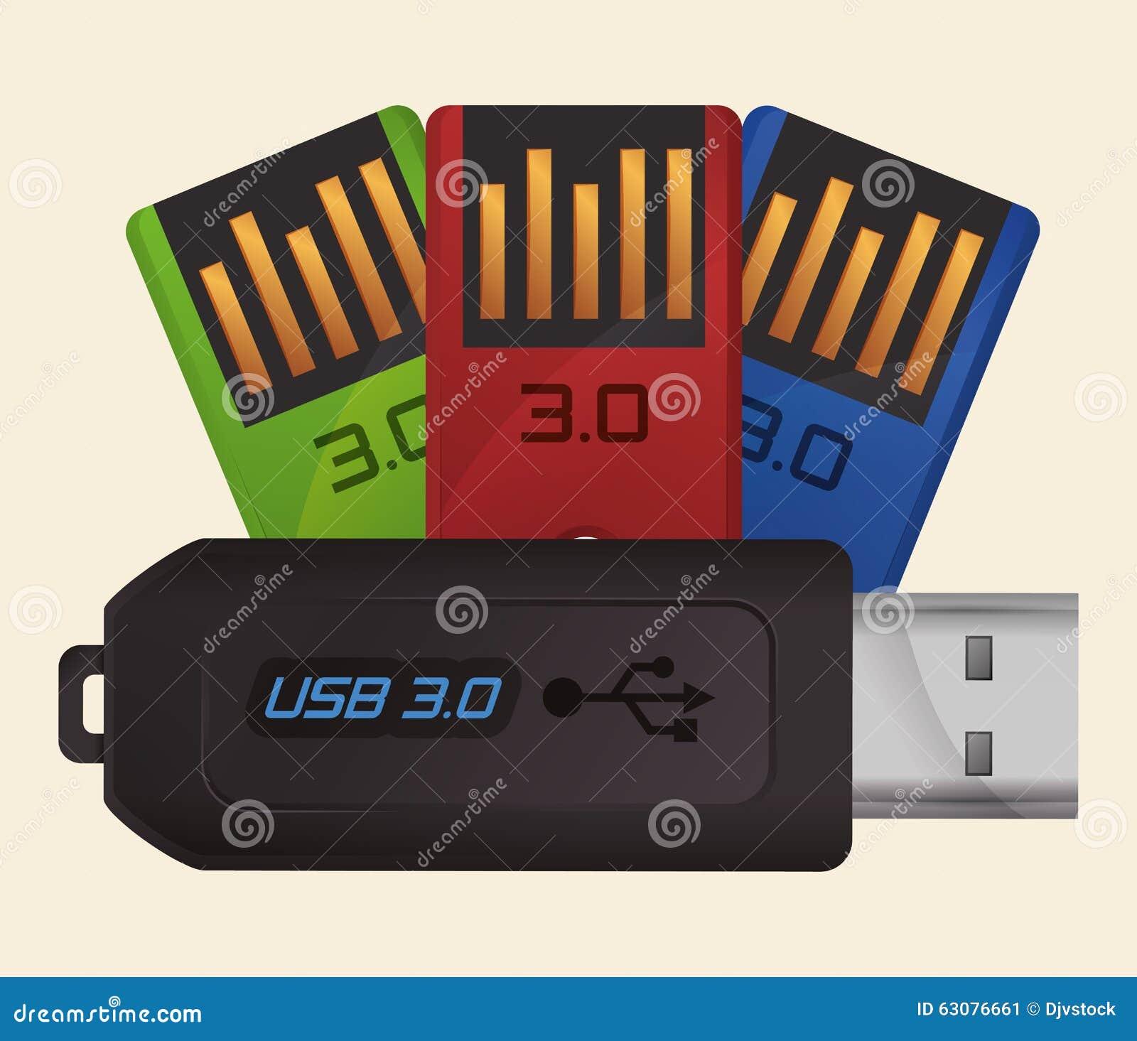 Download Conception d'icône d'Usb illustration de vecteur. Illustration du données - 63076661