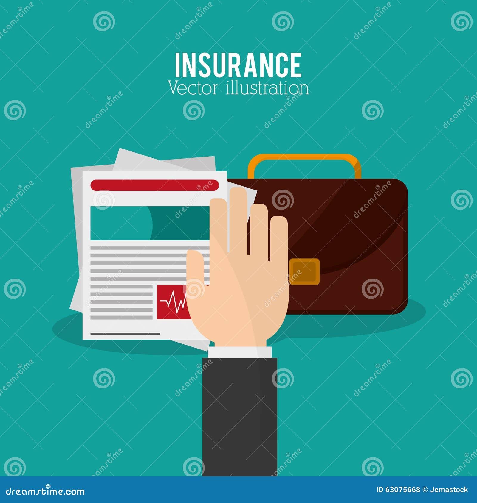 Download Conception D'icônes D'assurance Illustration de Vecteur - Illustration du système, dangereux: 63075668