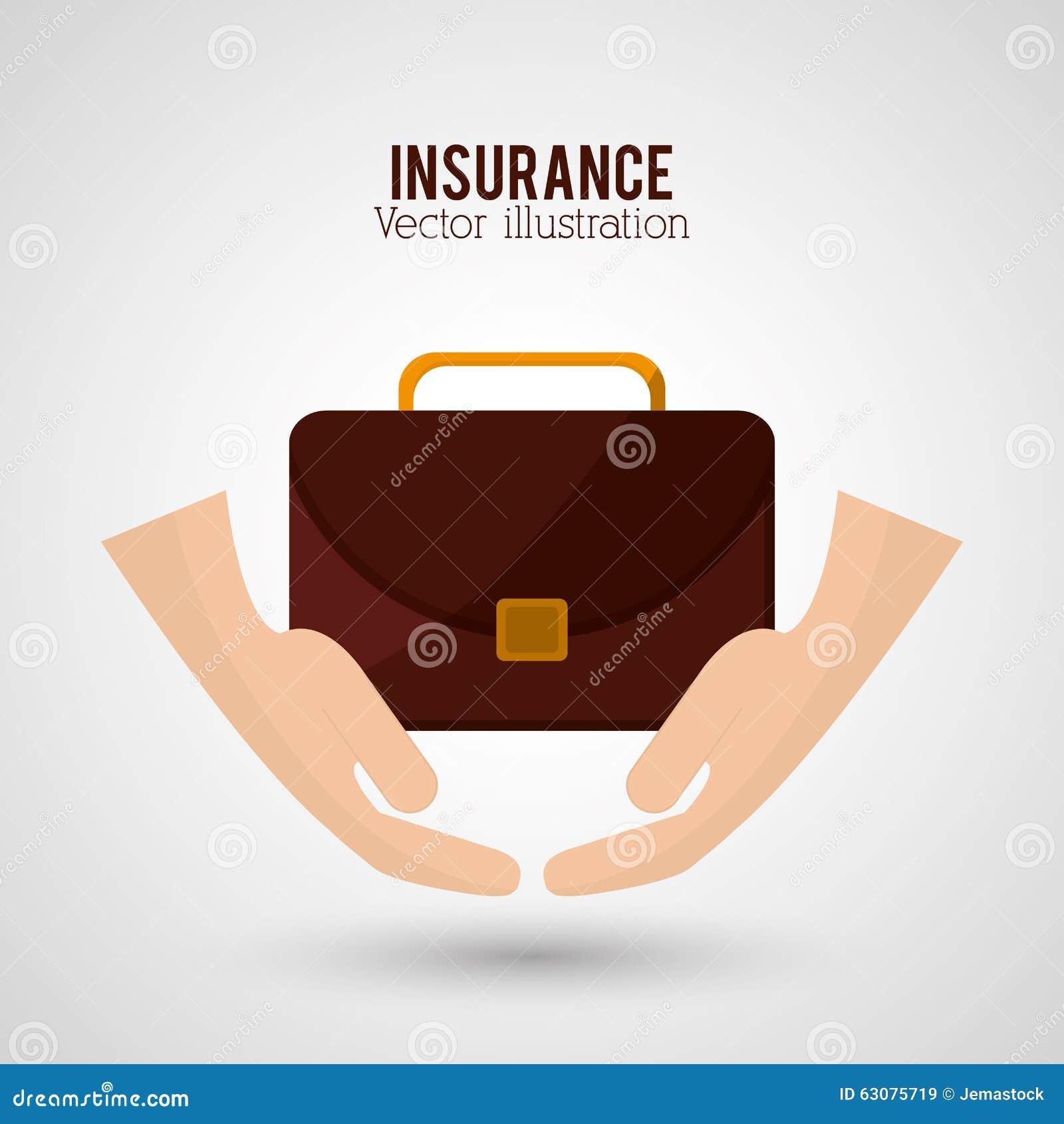 Download Conception D'icônes D'assurance Illustration de Vecteur - Illustration du risqué, symbole: 63075719