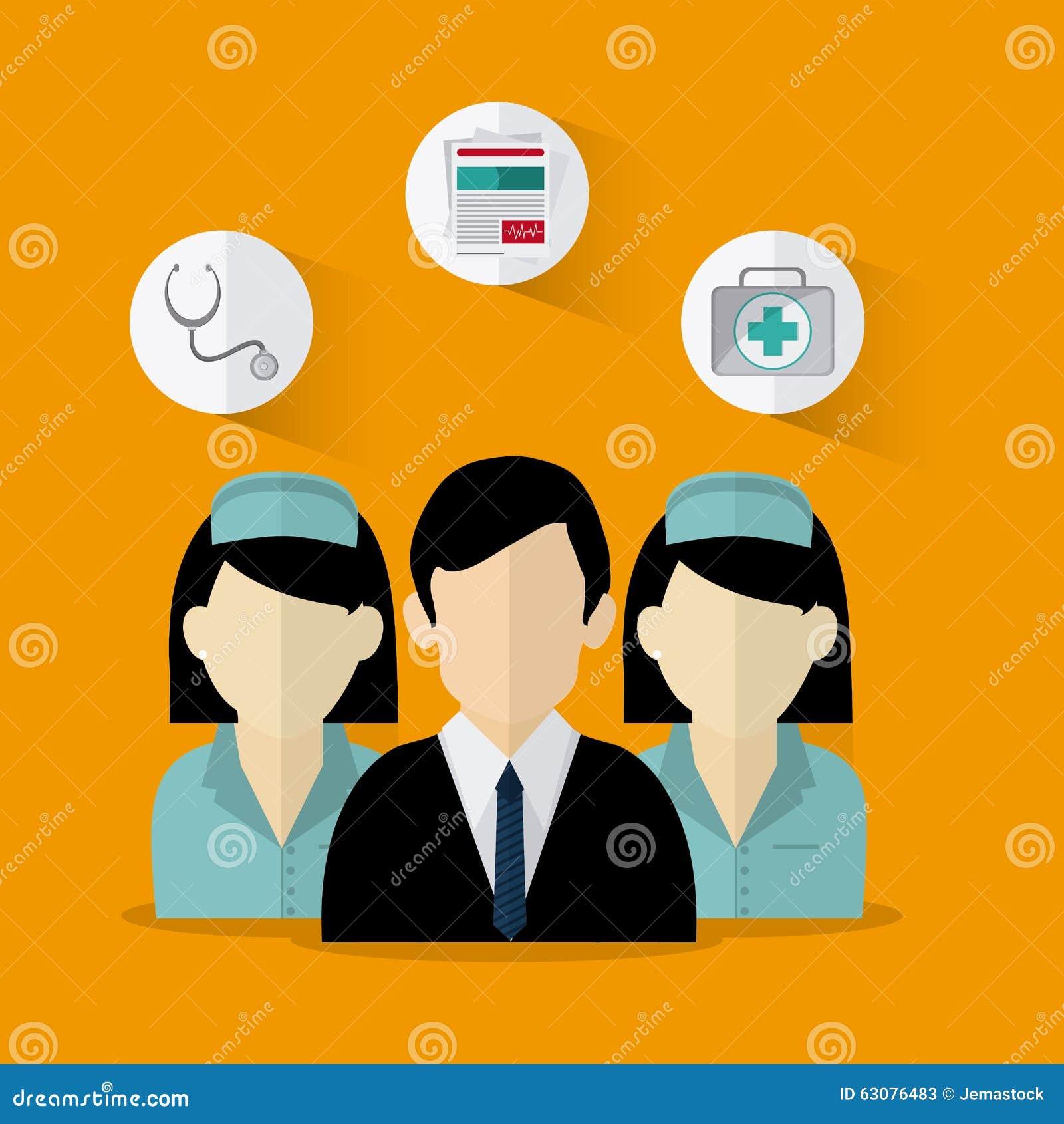 Download Conception D'icônes D'assurance Illustration de Vecteur - Illustration du homme, soin: 63076483
