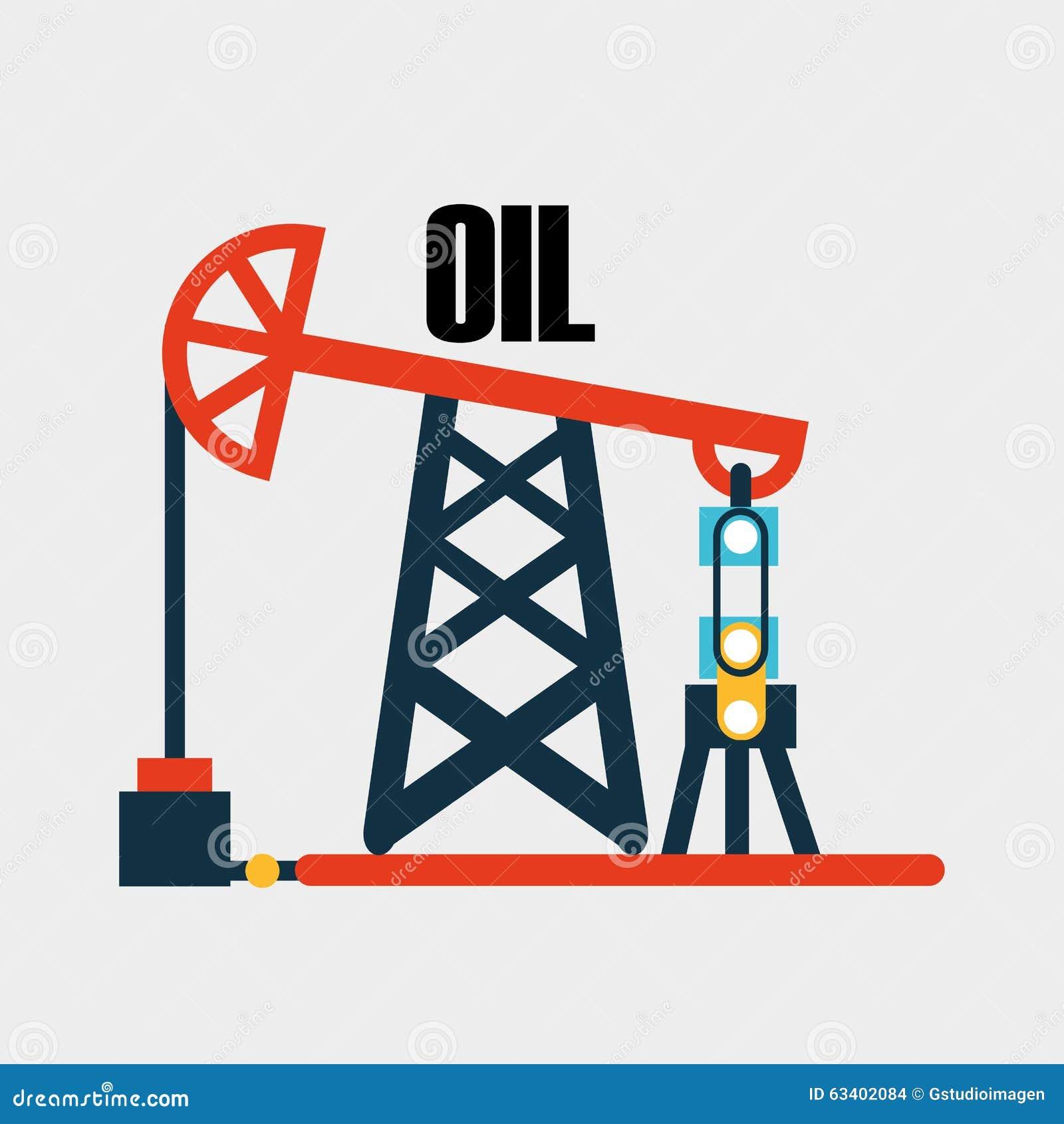 Conception d industrie pétrolière