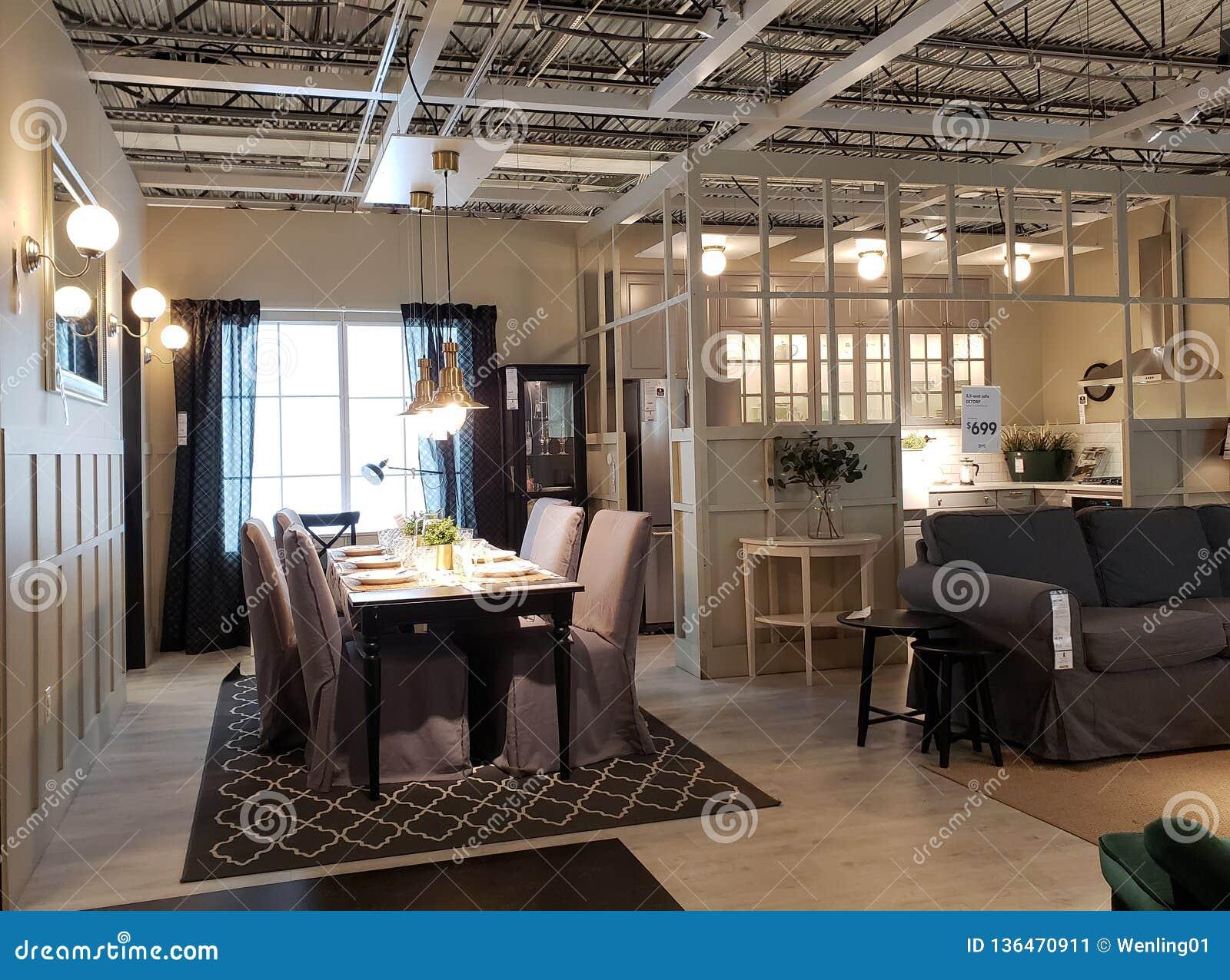 Conception D\'intérieur De Maison Moderne Gentille à IKEA Photo ...