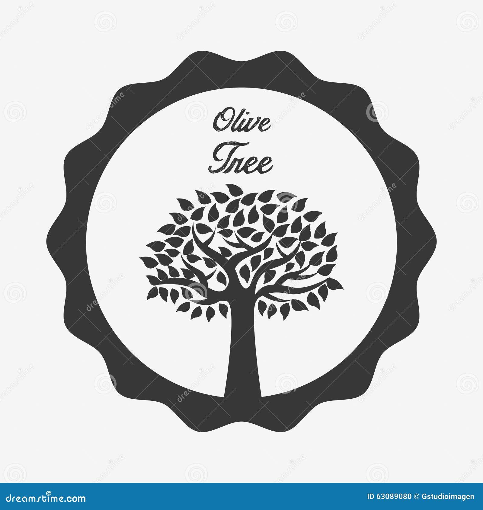 Download Conception d'olivier illustration de vecteur. Illustration du symbole - 63089080