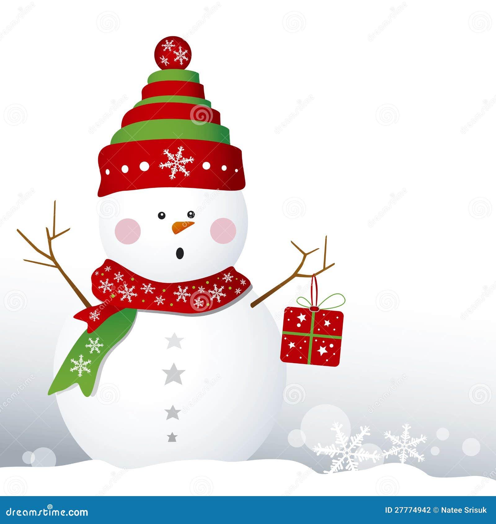 Conception de bonhomme de neige