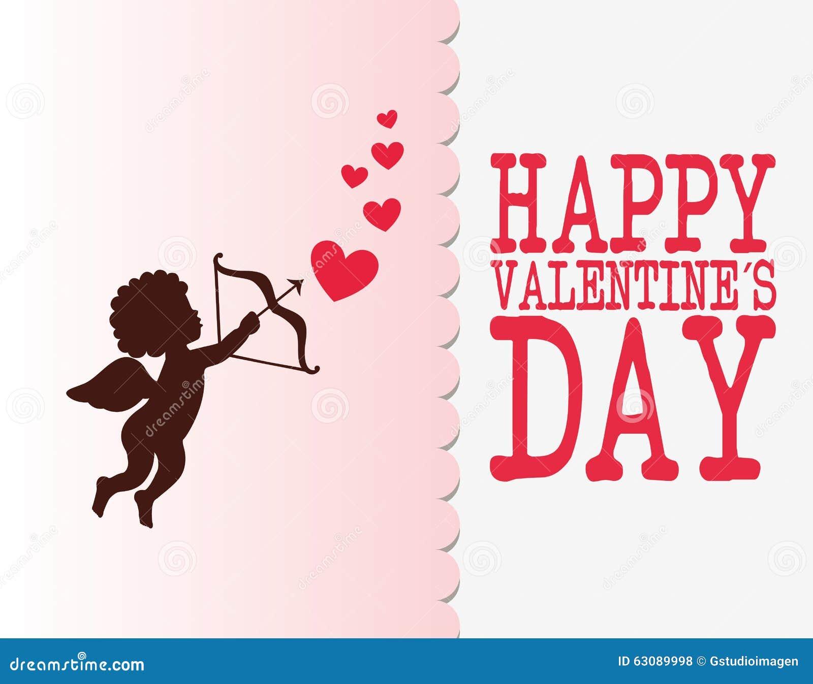 Download Conception De Carte D'amour Illustration de Vecteur - Illustration du ange, valentine: 63089998