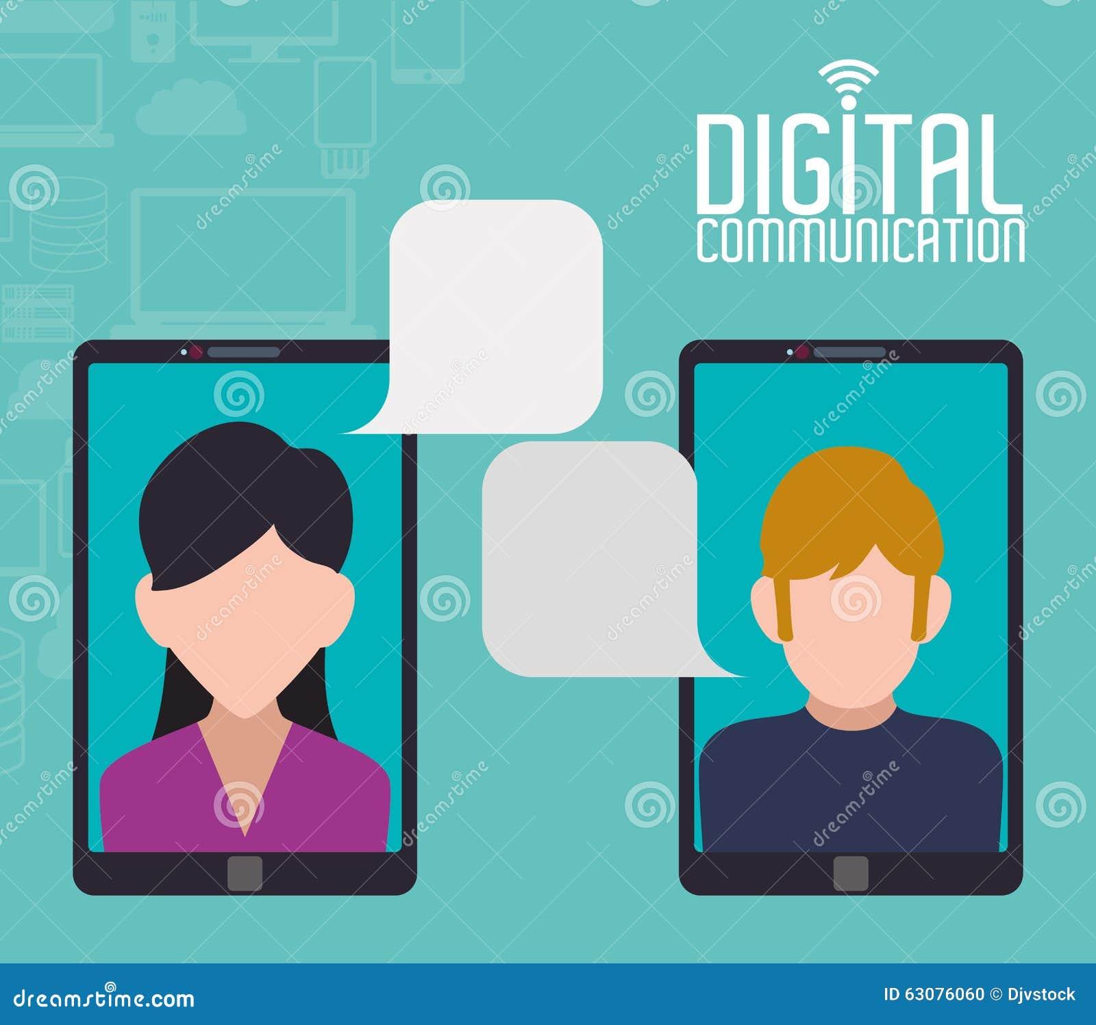 Download Conception De Communication Numérique Illustration de Vecteur - Illustration du graphisme, matériel: 63076060