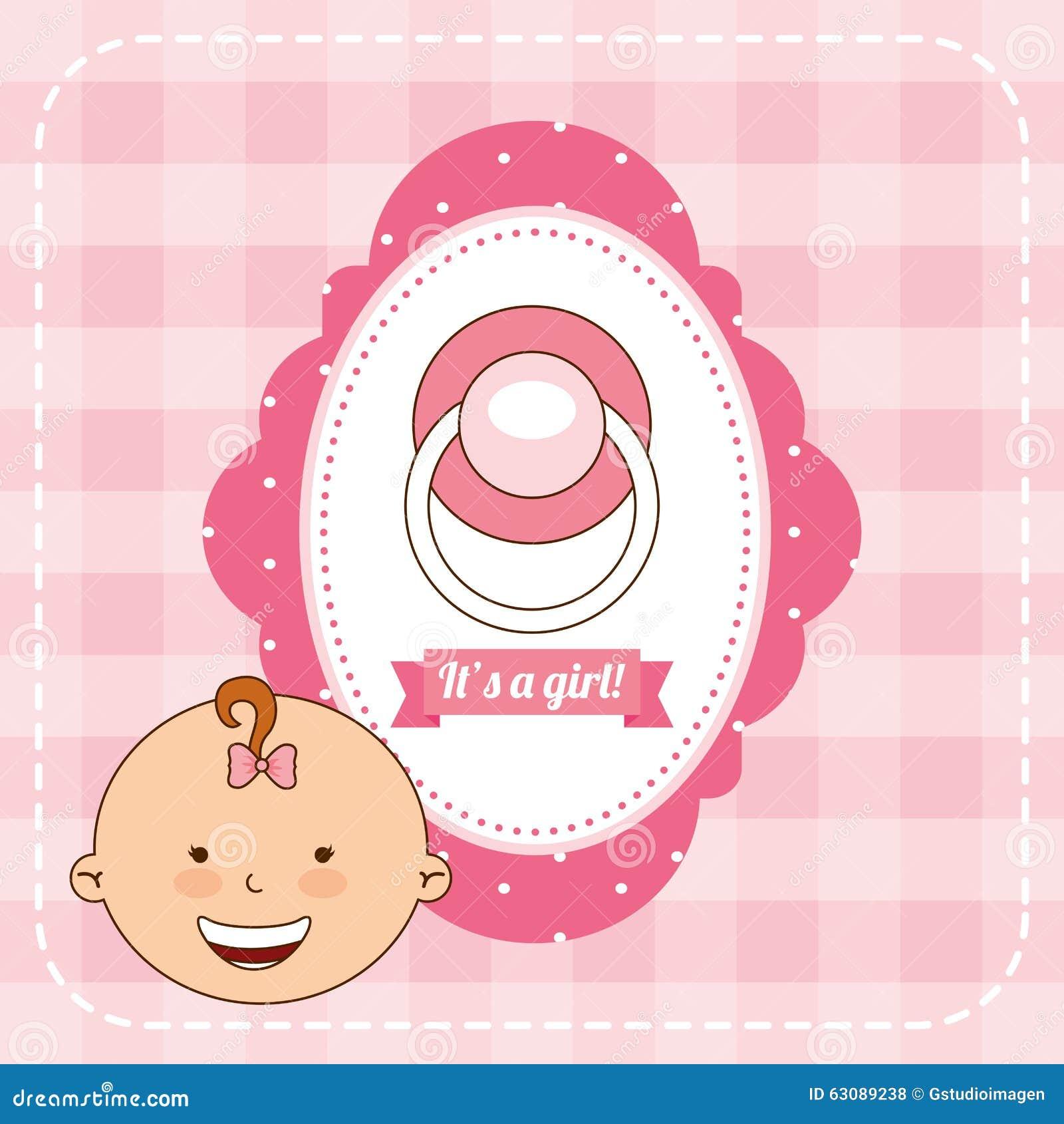 Download Conception De Fête De Naissance Illustration de Vecteur - Illustration du fond, invitation: 63089238