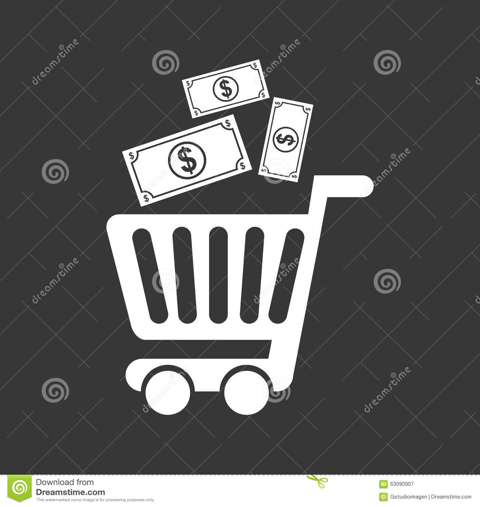 Download Conception De L'avant-projet D'argent Illustration de Vecteur - Illustration du bénéfice, économie: 63090907
