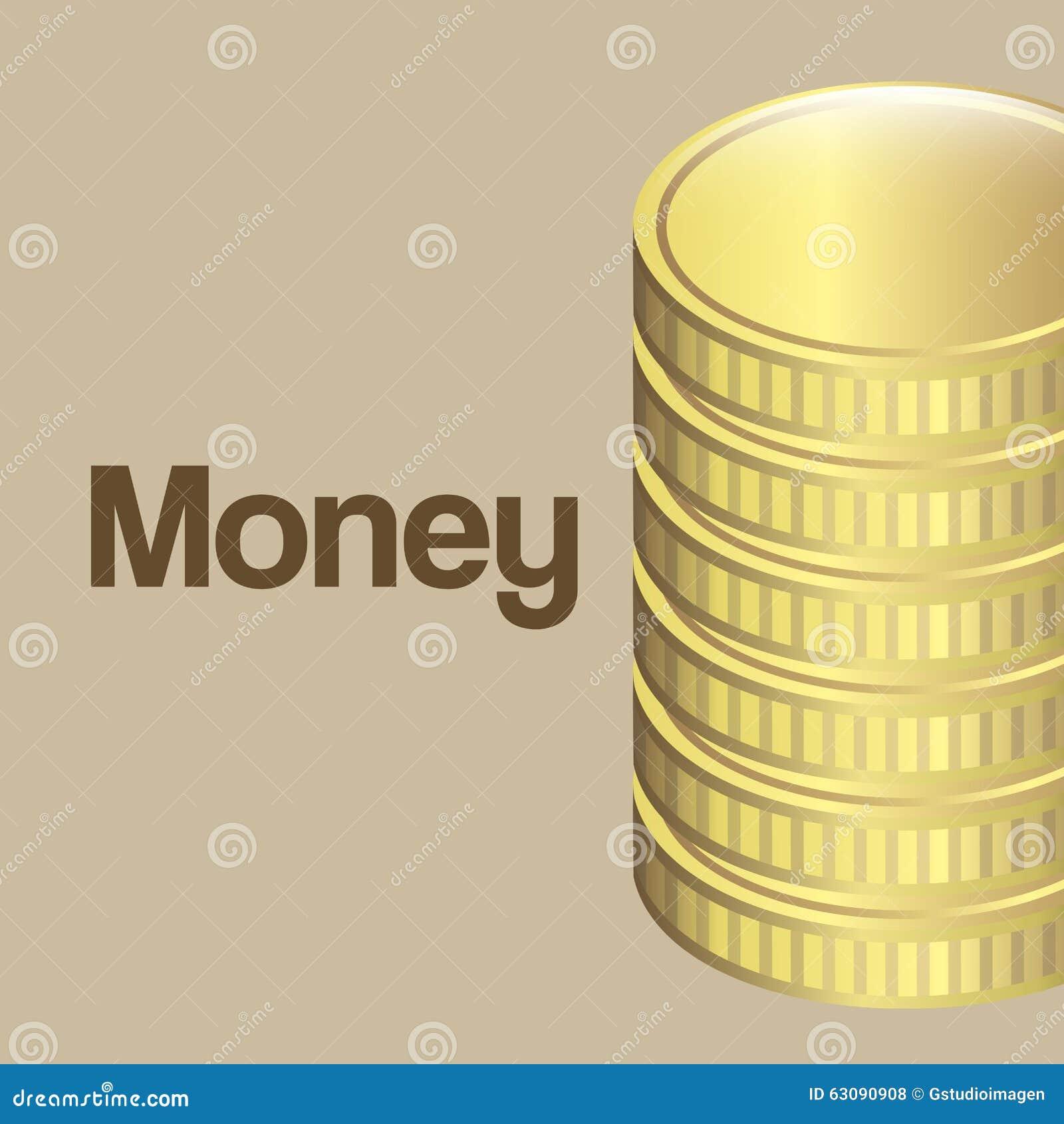 Download Conception De L'avant-projet D'argent Illustration de Vecteur - Illustration du investissement, conceptuel: 63090908