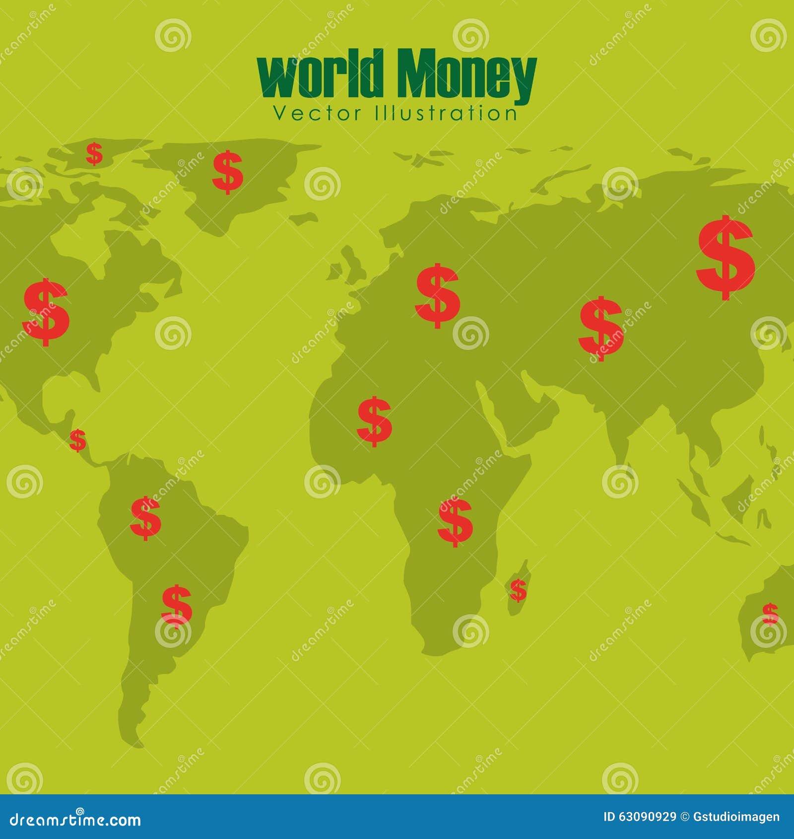Download Conception De L'avant-projet D'argent Illustration de Vecteur - Illustration du concept, épargne: 63090929