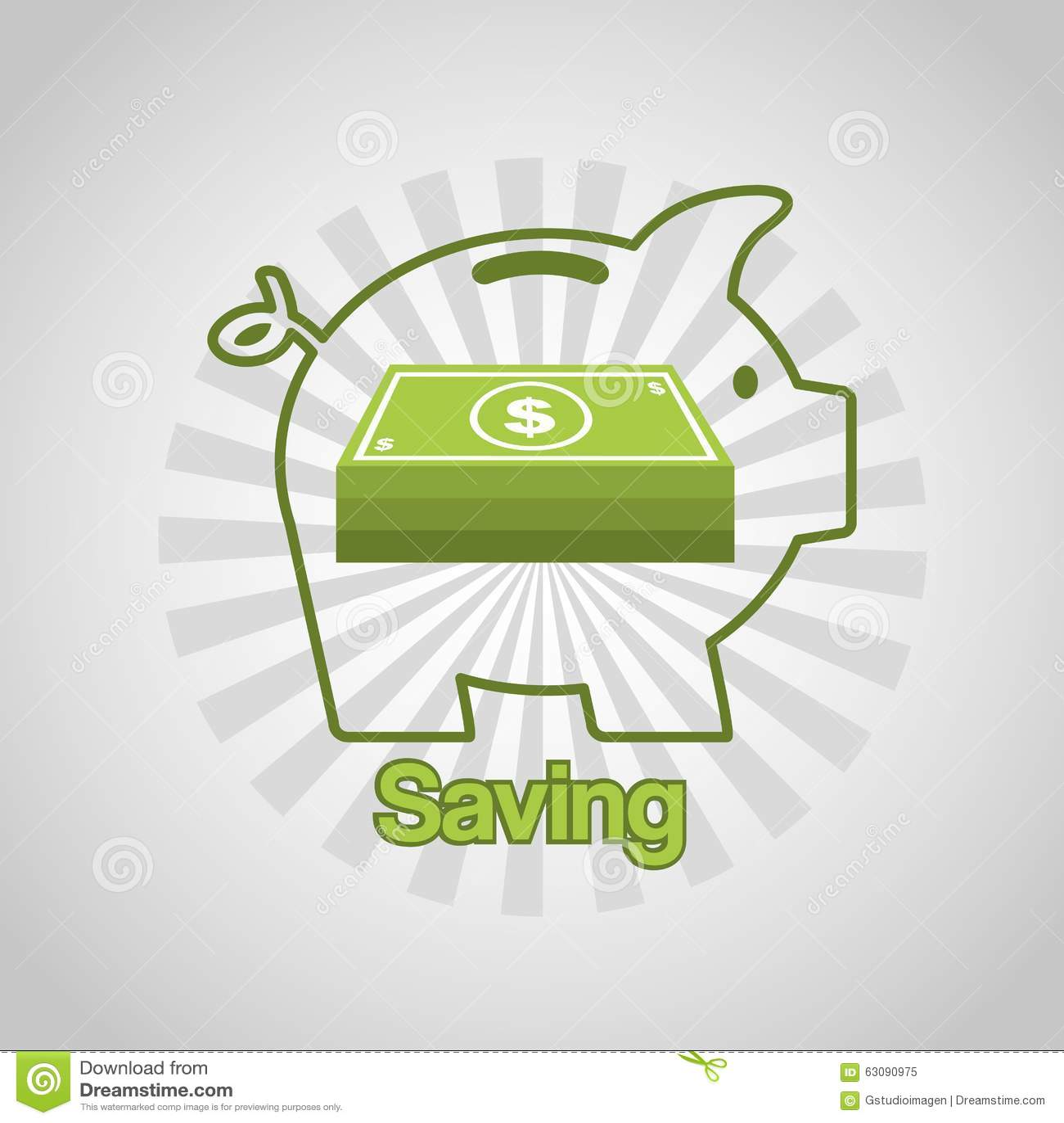 Download Conception De L'avant-projet D'argent Illustration de Vecteur - Illustration du finances, vecteur: 63090975