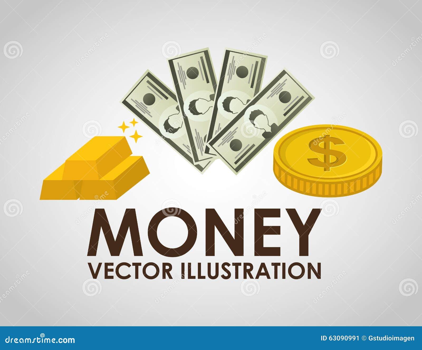 Download Conception De L'avant-projet D'argent Illustration de Vecteur - Illustration du illustration, banking: 63090991